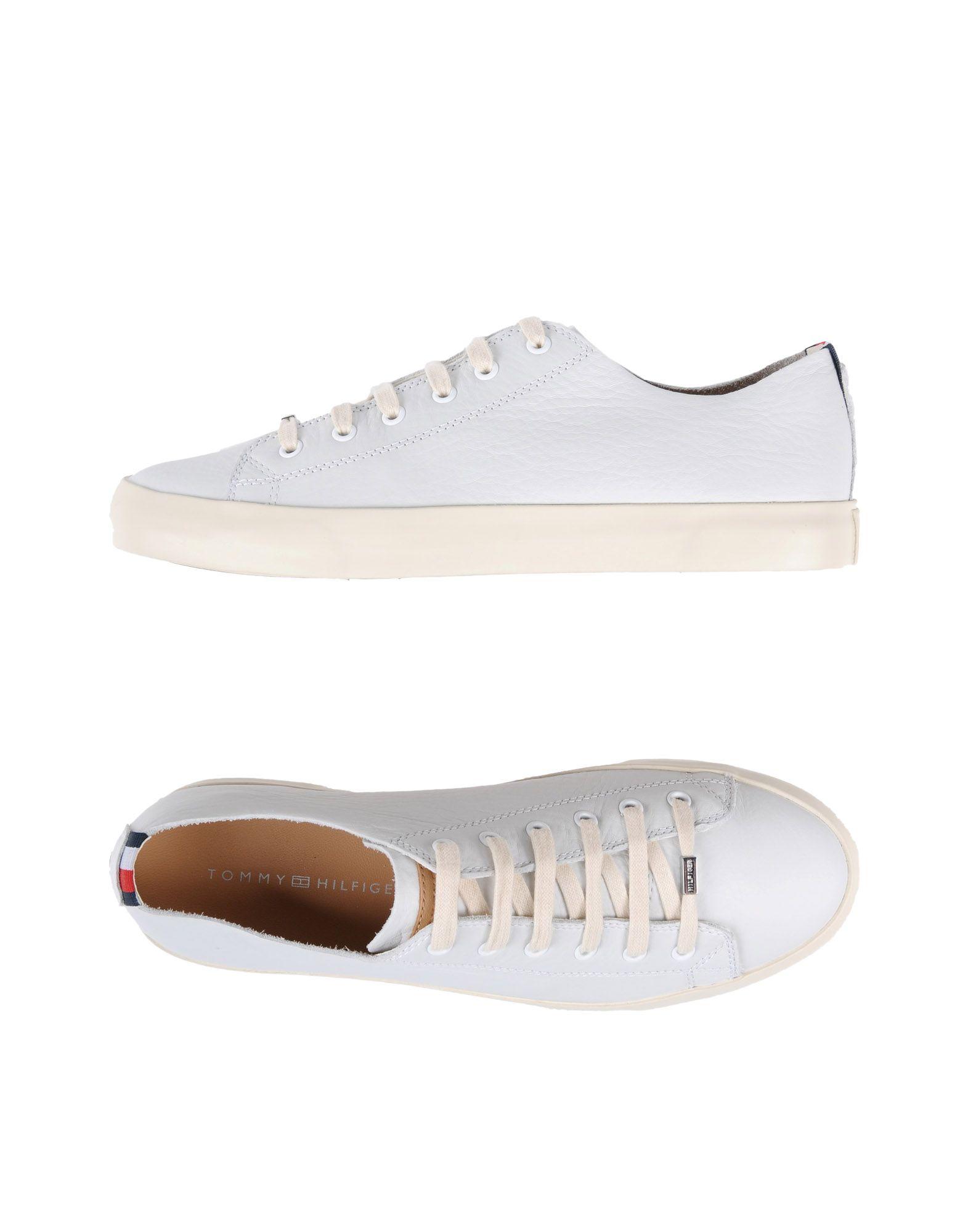 Sneakers Tommy Hilfiger Unlined Leather Low Cut Sneak. - Uomo - Acquista online su