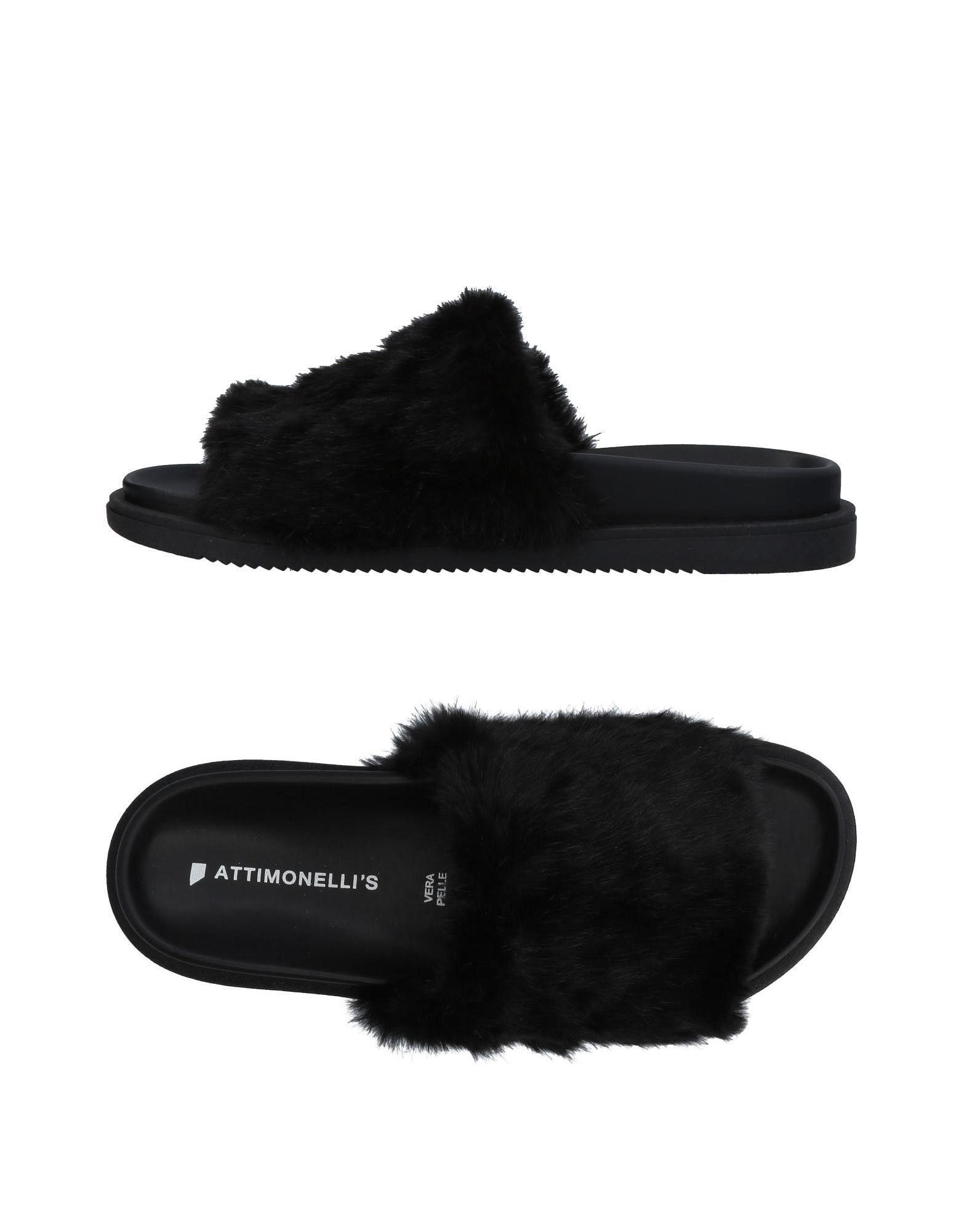 Günstige und modische Schuhe Attimonelli's Sandalen Herren  11448097ME