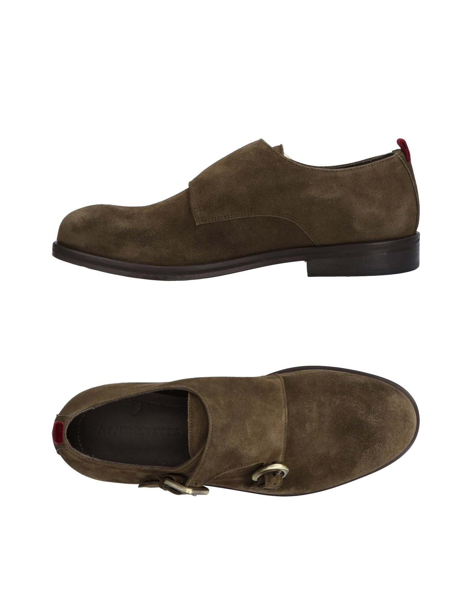 Rabatt echte Schuhe Attimonelli's Mokassins Herren  11448115NH