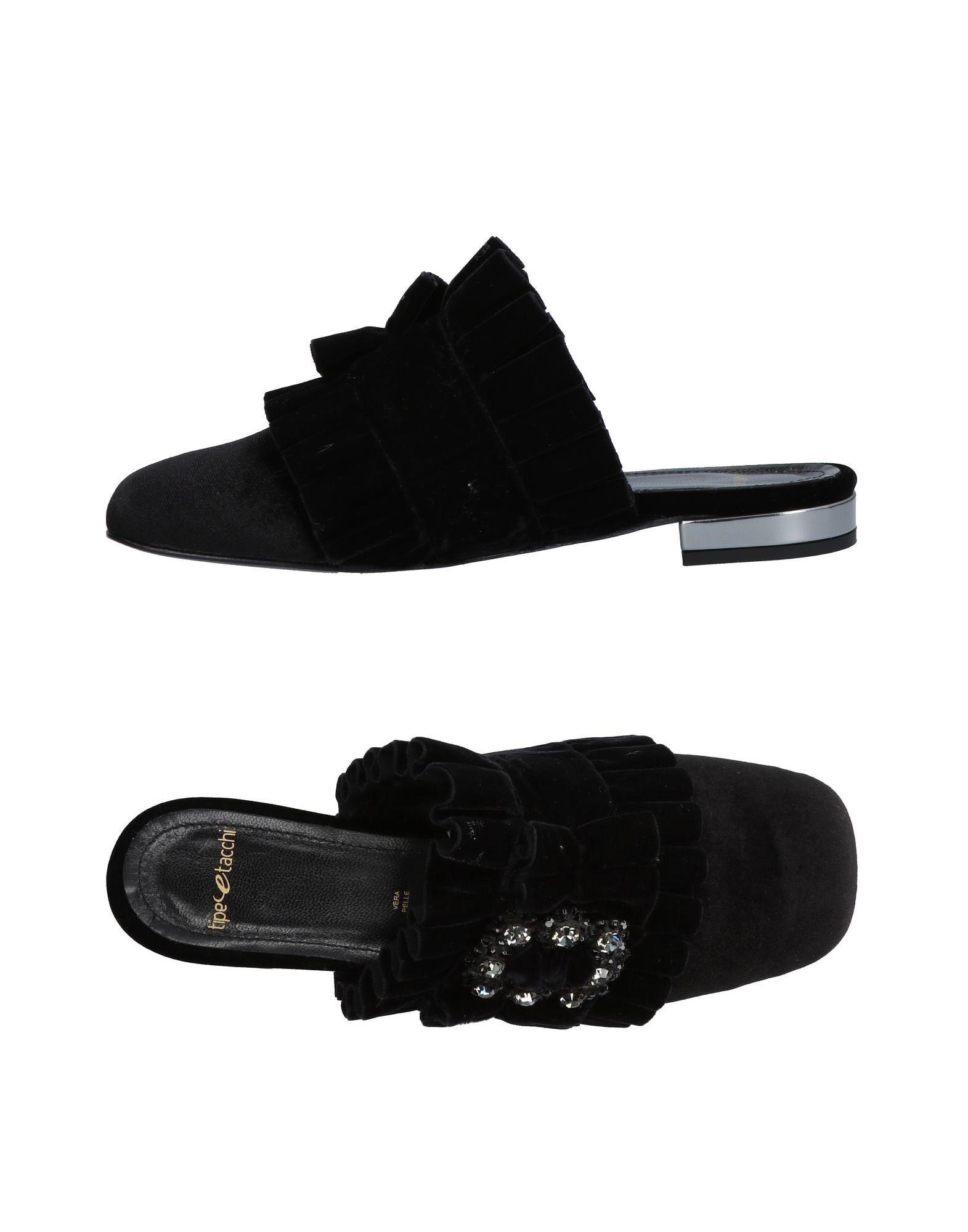 Stilvolle billige Schuhe Tipe E Tacchi Pantoletten Damen  11448203WD