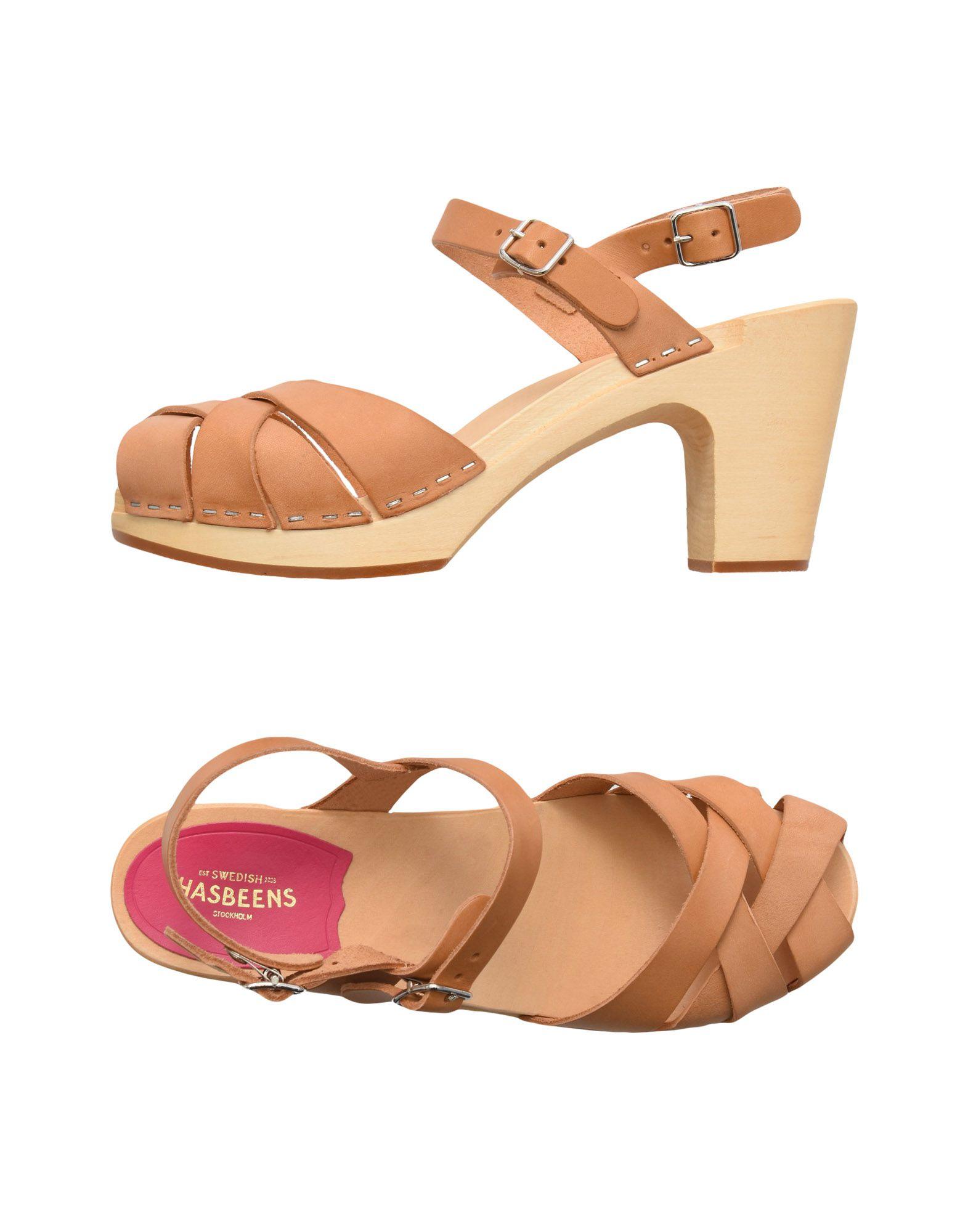 Stilvolle billige Schuhe Swedish Hasbeens Sandalen Damen  11448294GO