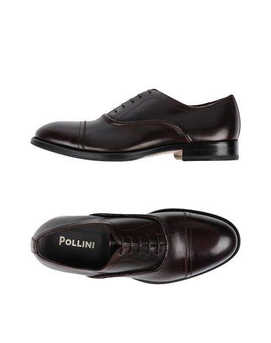 Lacets Pollini Homme Chaussures Sur À wqf6xFT