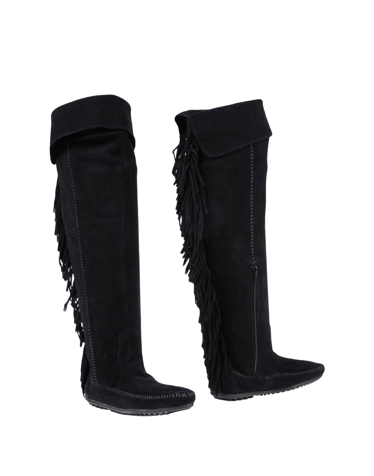 Stilvolle billige Schuhe Minnetonka X Maje Stiefel Damen  11448336TT