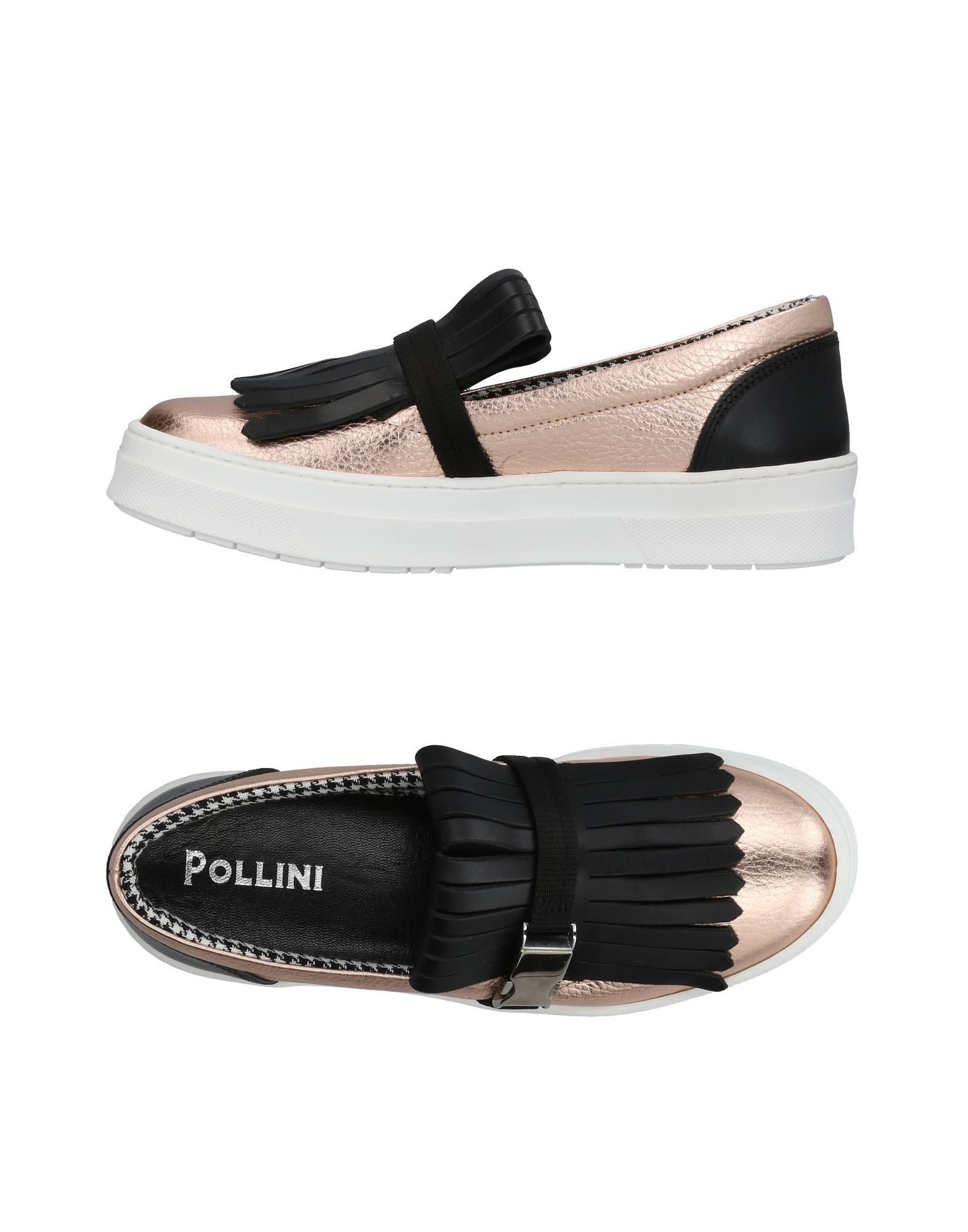 Stilvolle billige Schuhe Pollini Sneakers Damen  11448667AH