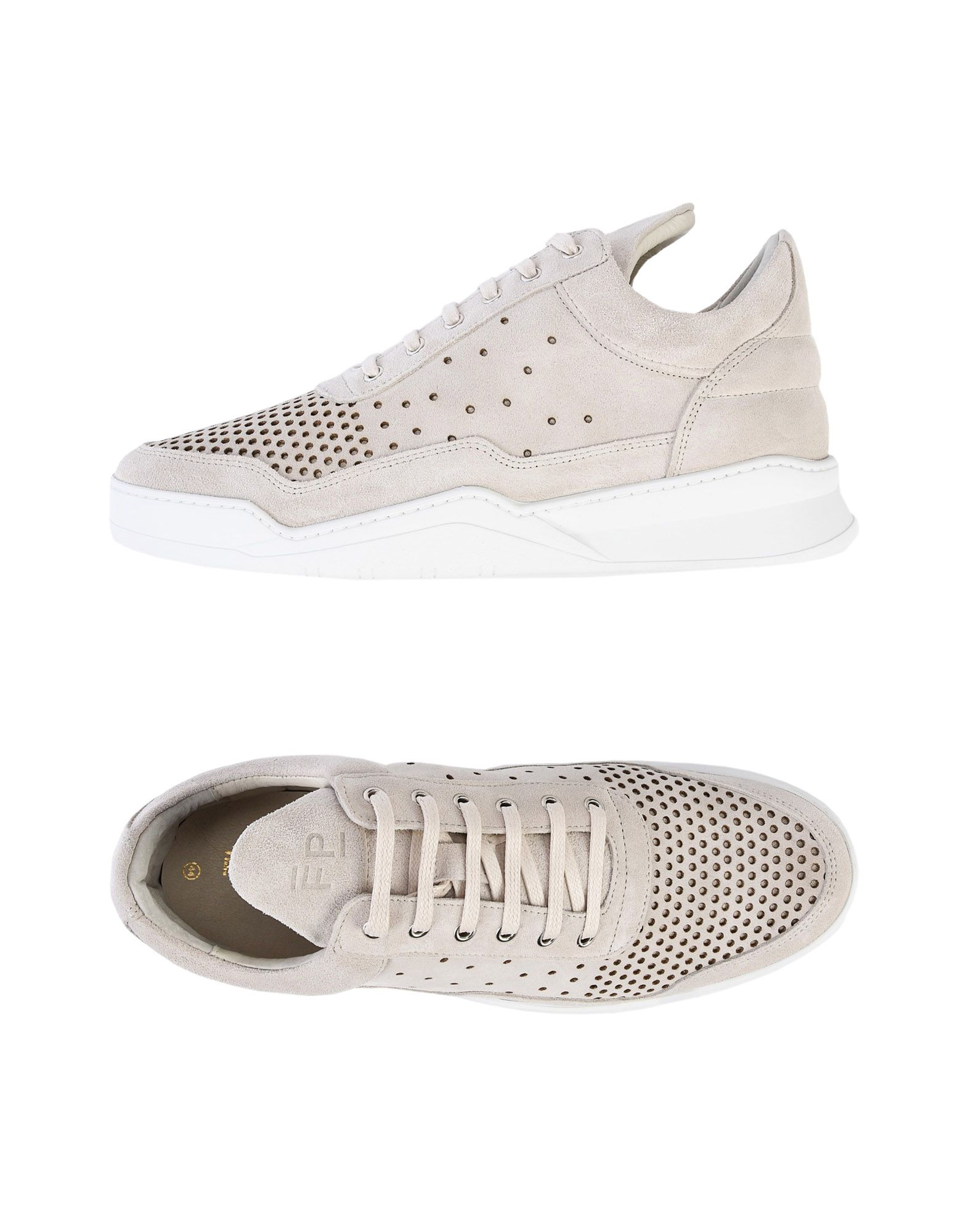 Filling Pieces Low Top Ghost Gradient Perforated Off White  11449040JH