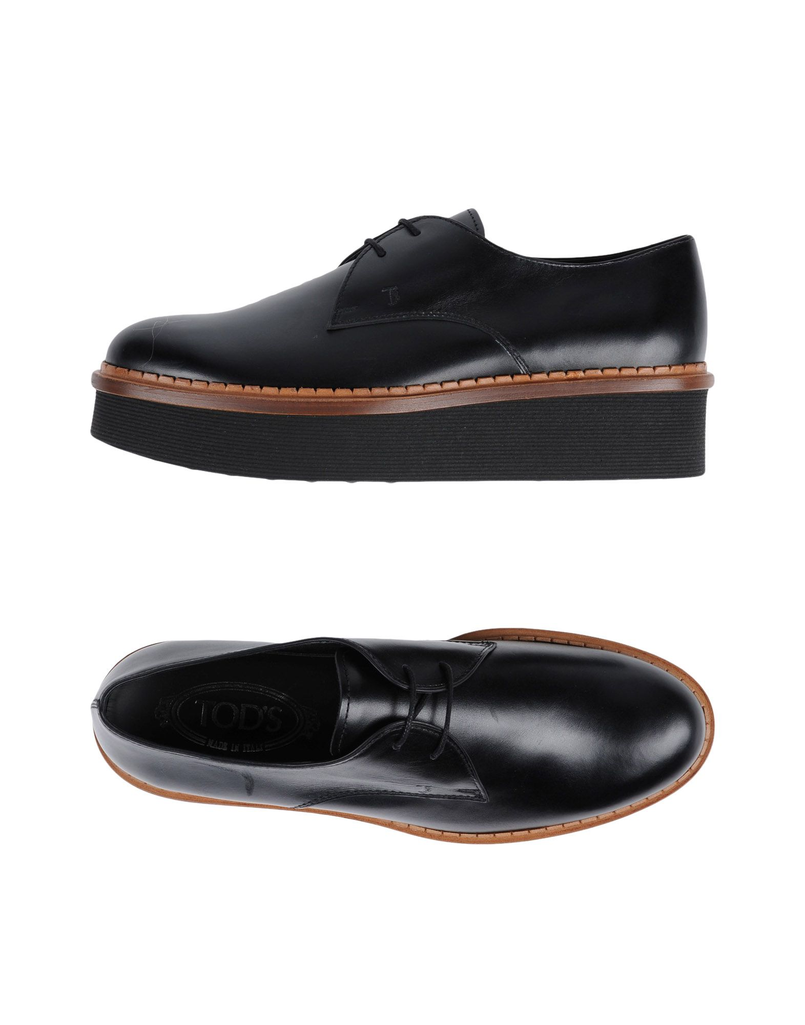 Haltbare Mode billige Schuhe Tod's Schnürschuhe Damen  11449082UU Heiße Schuhe