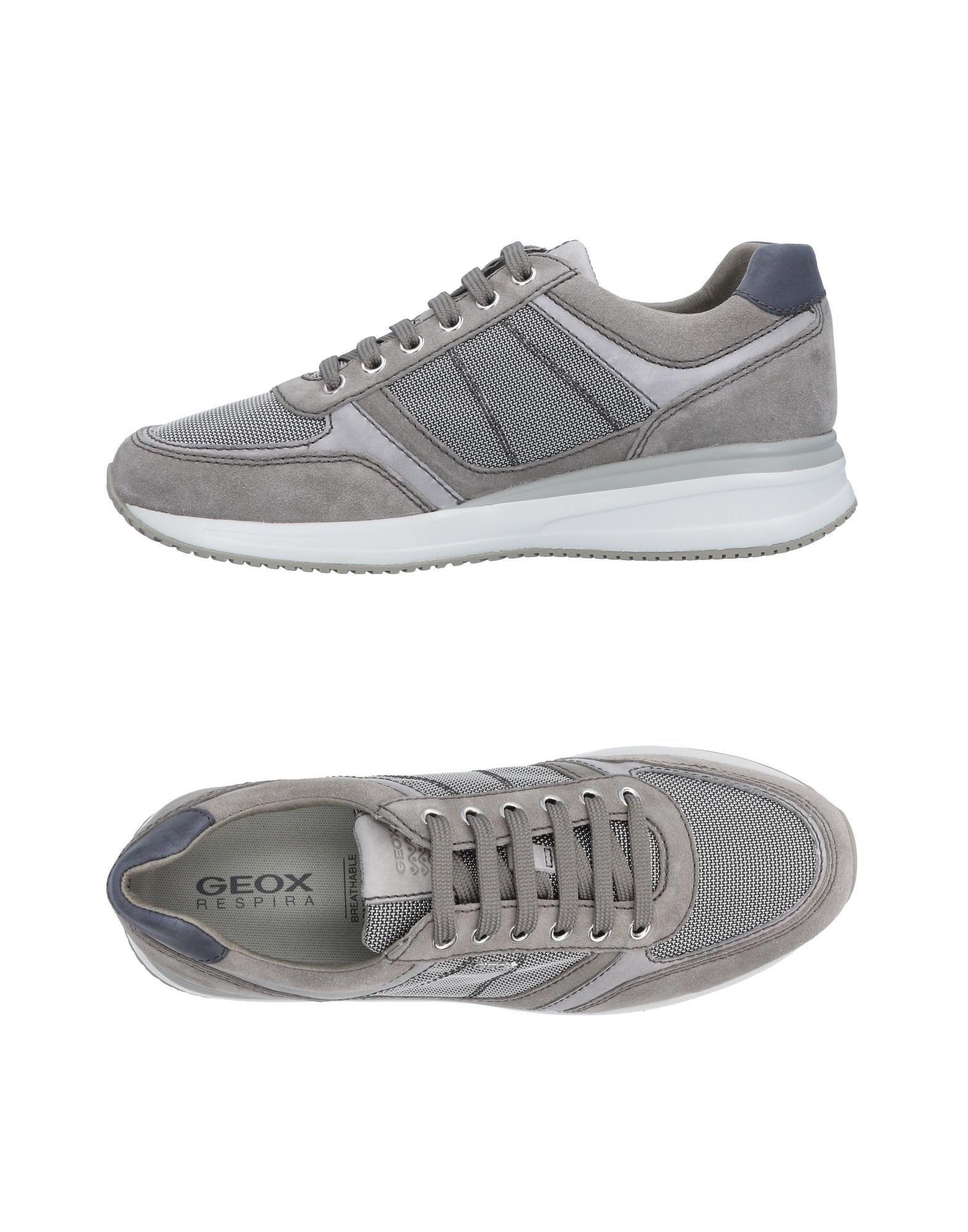 Rabatt echte Schuhe Geox Sneakers Herren  11449214AE