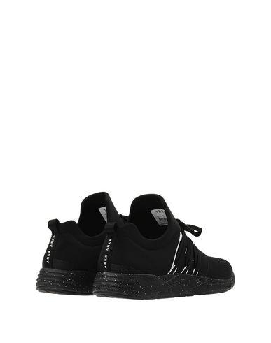 ARKK COPENHAGEN Raven Mesh S-E15 Black White Spray Sneakers