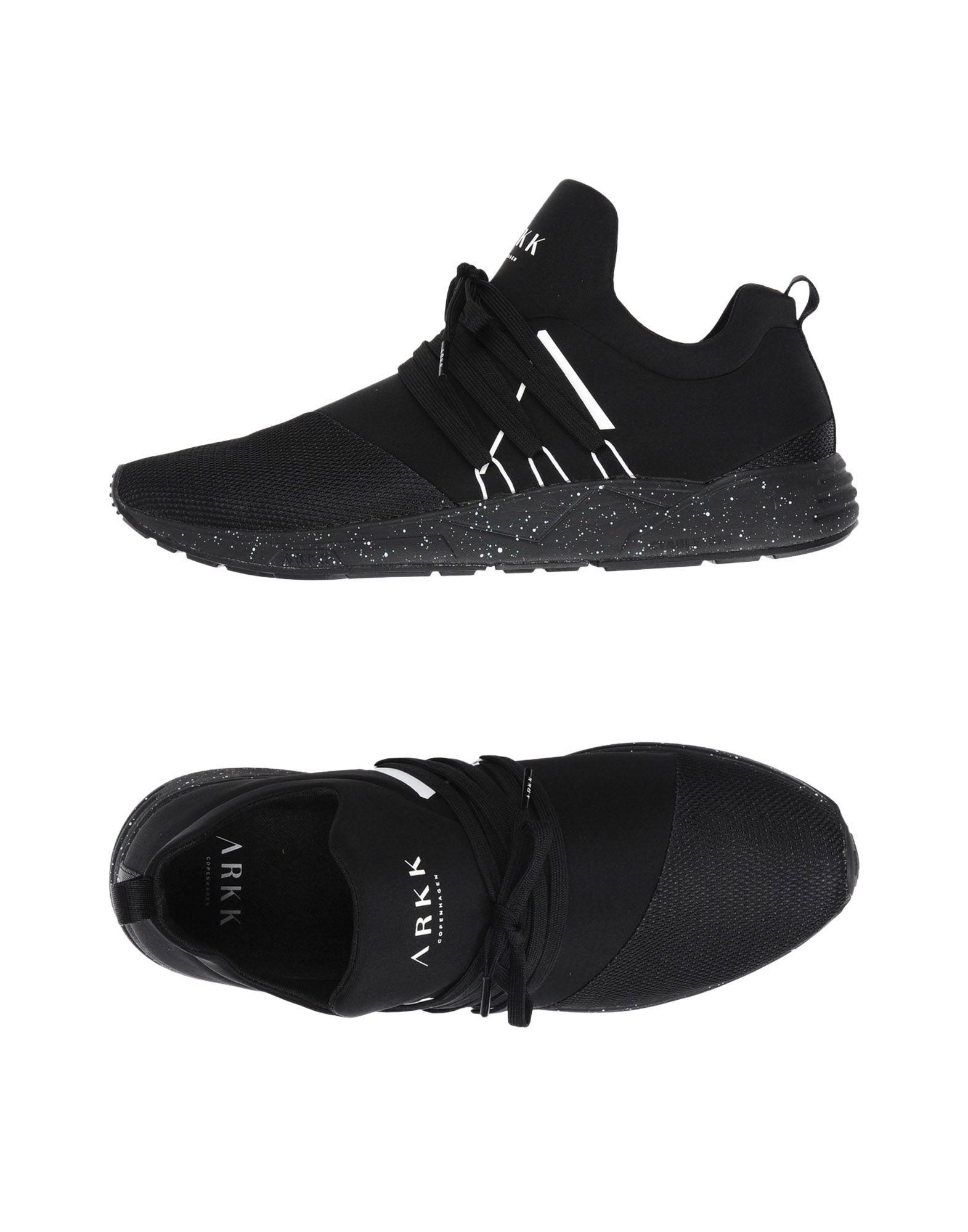 Sneakers Arkk Copenhagen Raven Mesh S-E15 Black White Spray - Uomo - Acquista online su
