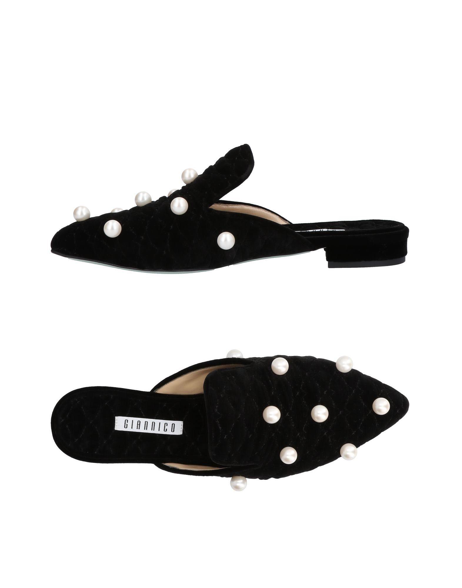 Rabatt Schuhe Giannico Pantoletten Damen  11450798CV