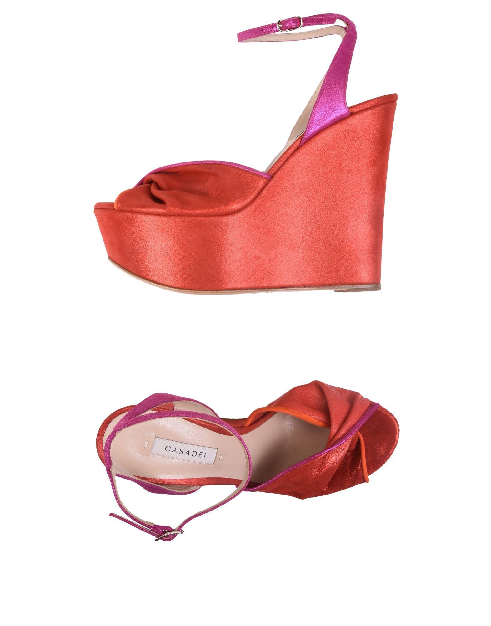Rabatt Schuhe Casadei Sandalen Damen  11450838KJ
