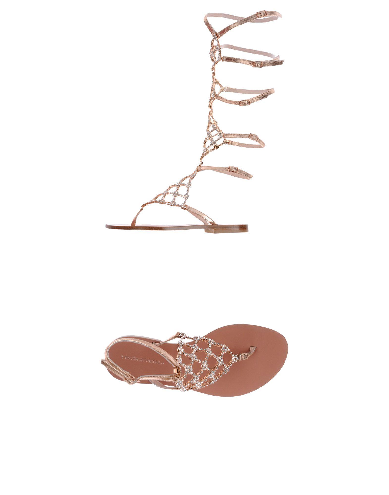 Stilvolle billige Schuhe Vincenzo Piccolo Dianetten Damen  11450864NS