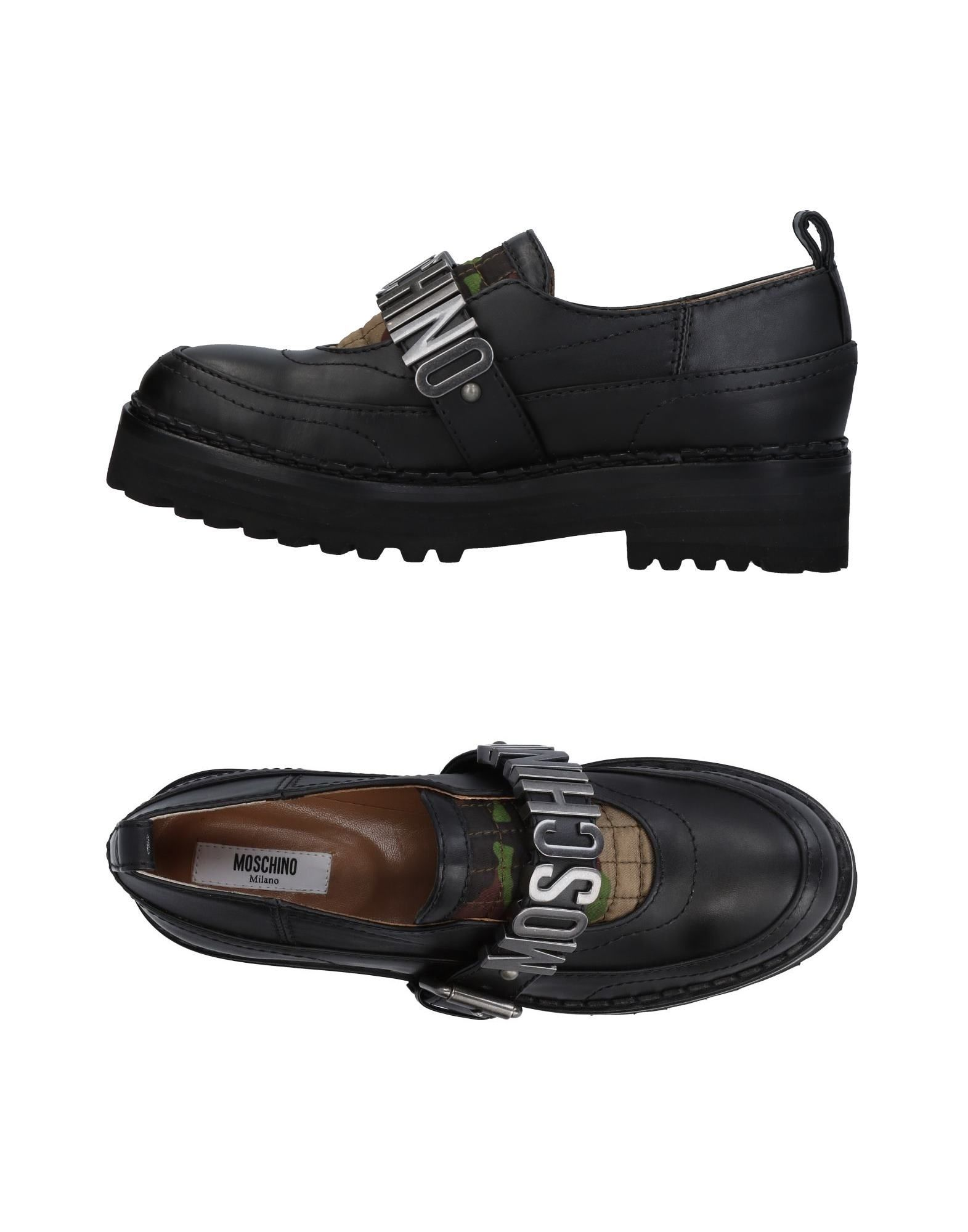 Rabatt Schuhe Mokassins Moschino Mokassins Schuhe Damen  11451065NT 880af2