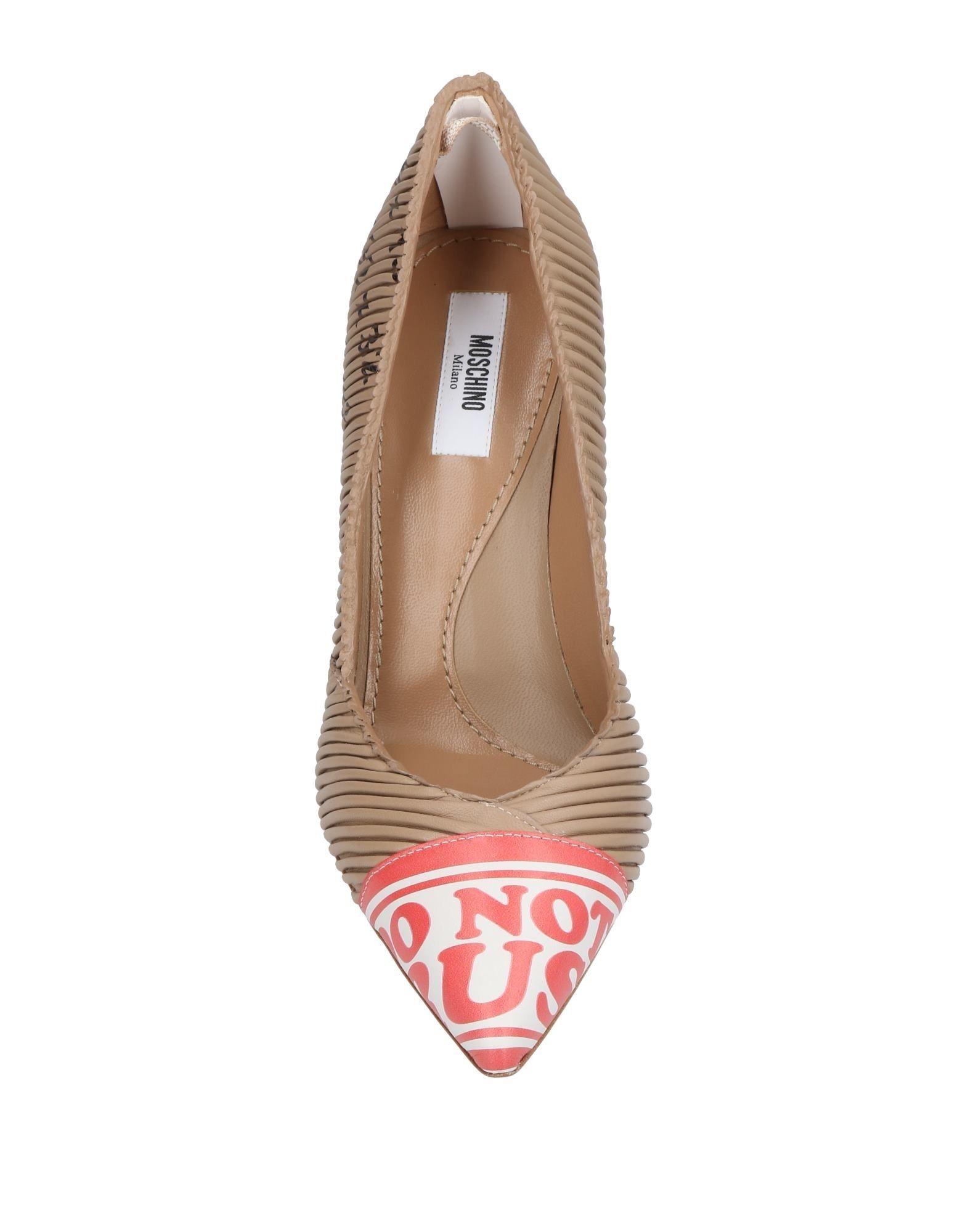 Moschino Pumps aussehende Damen  11451089BJGünstige gut aussehende Pumps Schuhe 7ad8ed