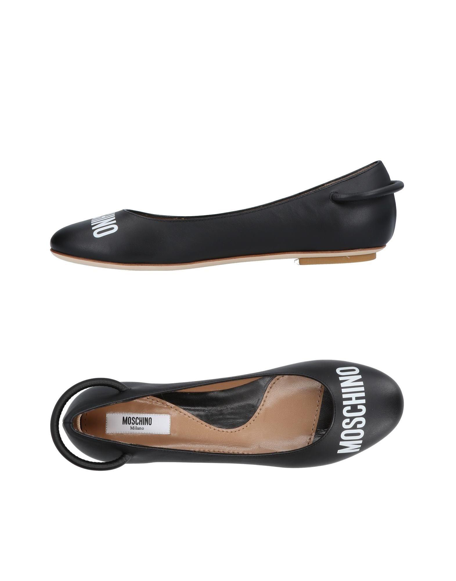 Haltbare Mode billige Schuhe Moschino Ballerinas Damen  11451119WV Heiße Schuhe