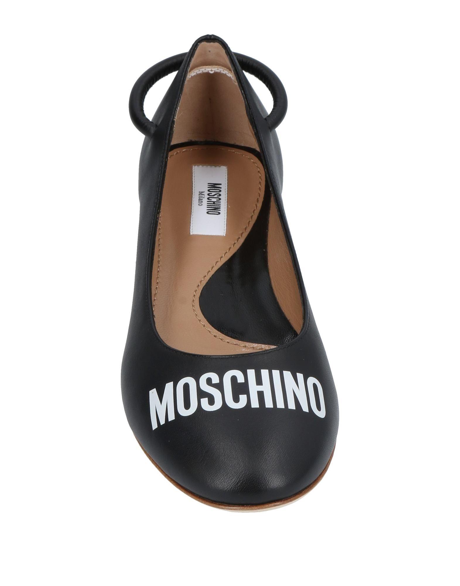 Moschino Ballerinas Damen  11451119WVGut aussehende strapazierfähige Schuhe