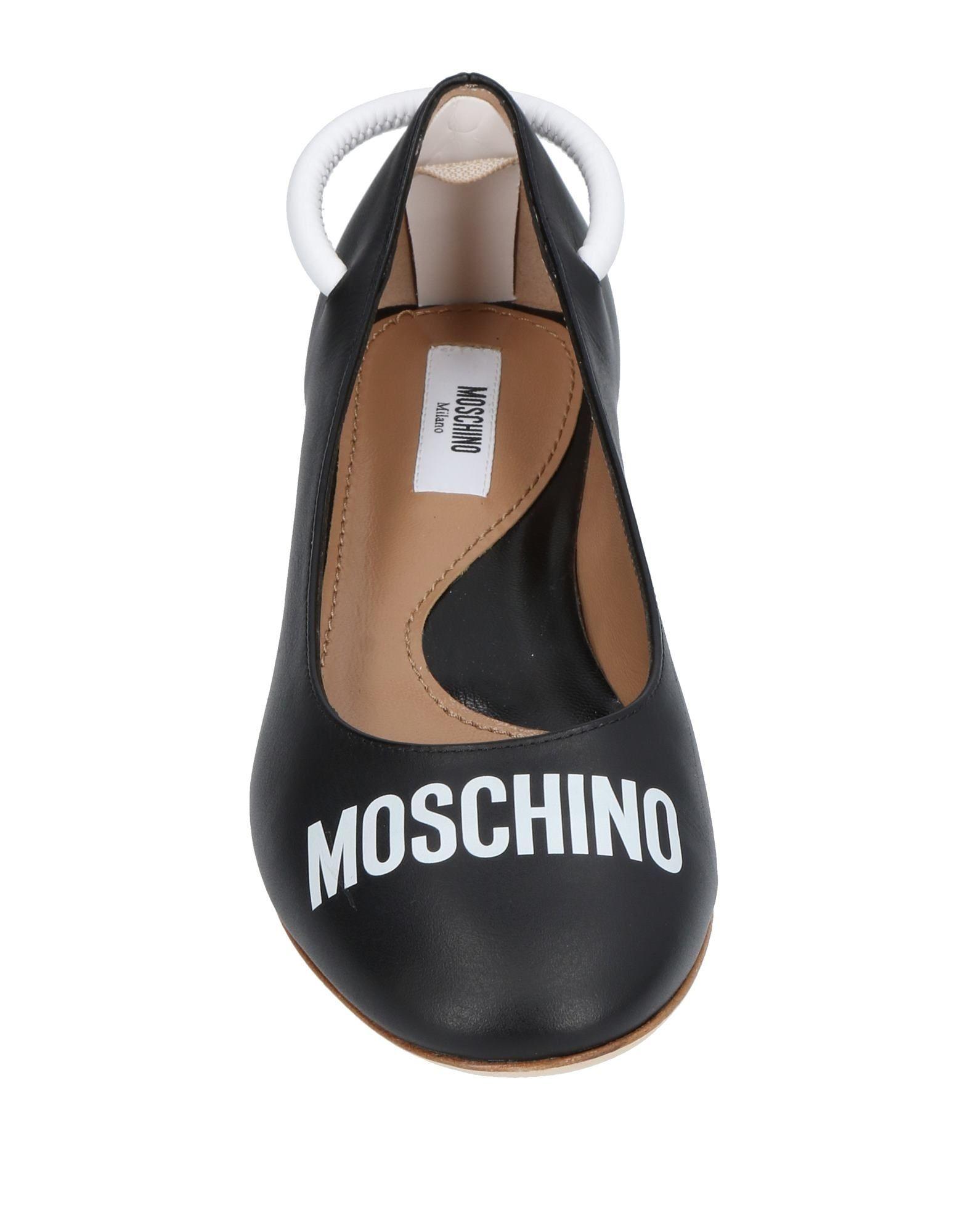 Rabatt Moschino Schuhe Moschino Rabatt Ballerinas Damen  11451124JG a82383
