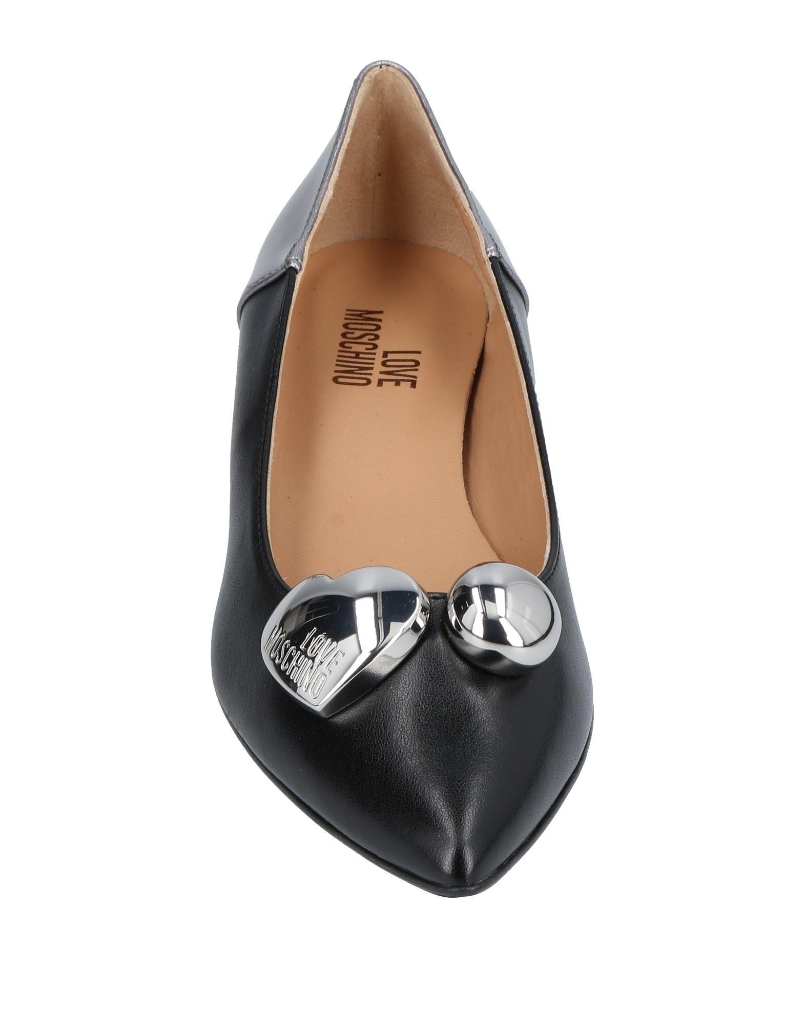 Stilvolle Schuhe billige Schuhe Stilvolle Love Moschino Ballerinas Damen  11451185OG 0804f3