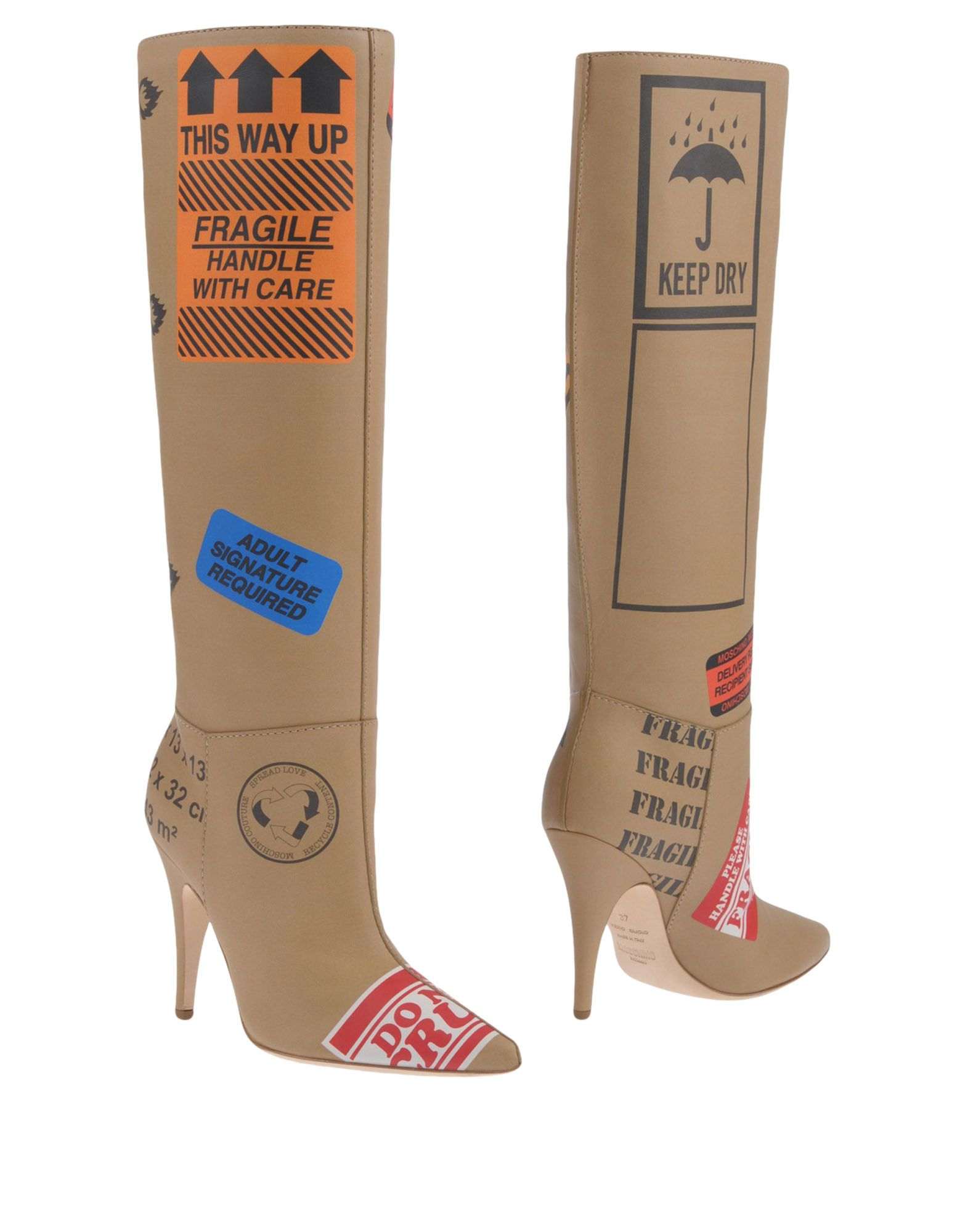 Moschino Stiefel Damen 11451188WRGünstige  11451188WRGünstige Damen gut aussehende Schuhe f6a4a0
