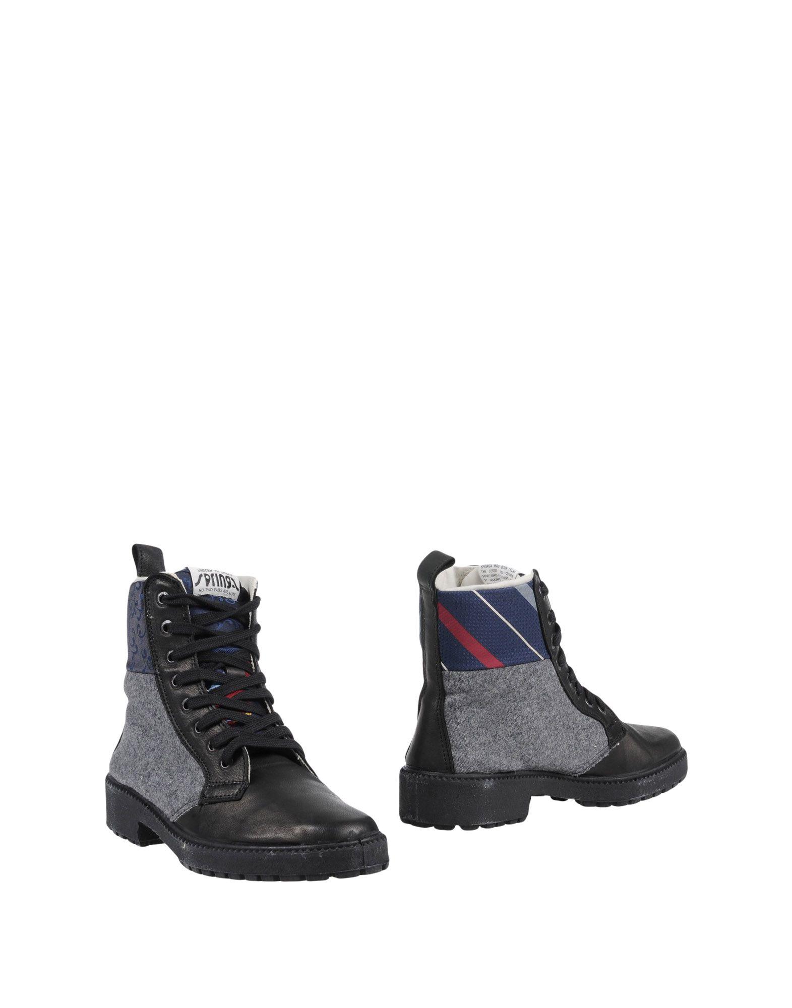 Springa Stiefelette Damen  11451212IM Gute Qualität beliebte Schuhe