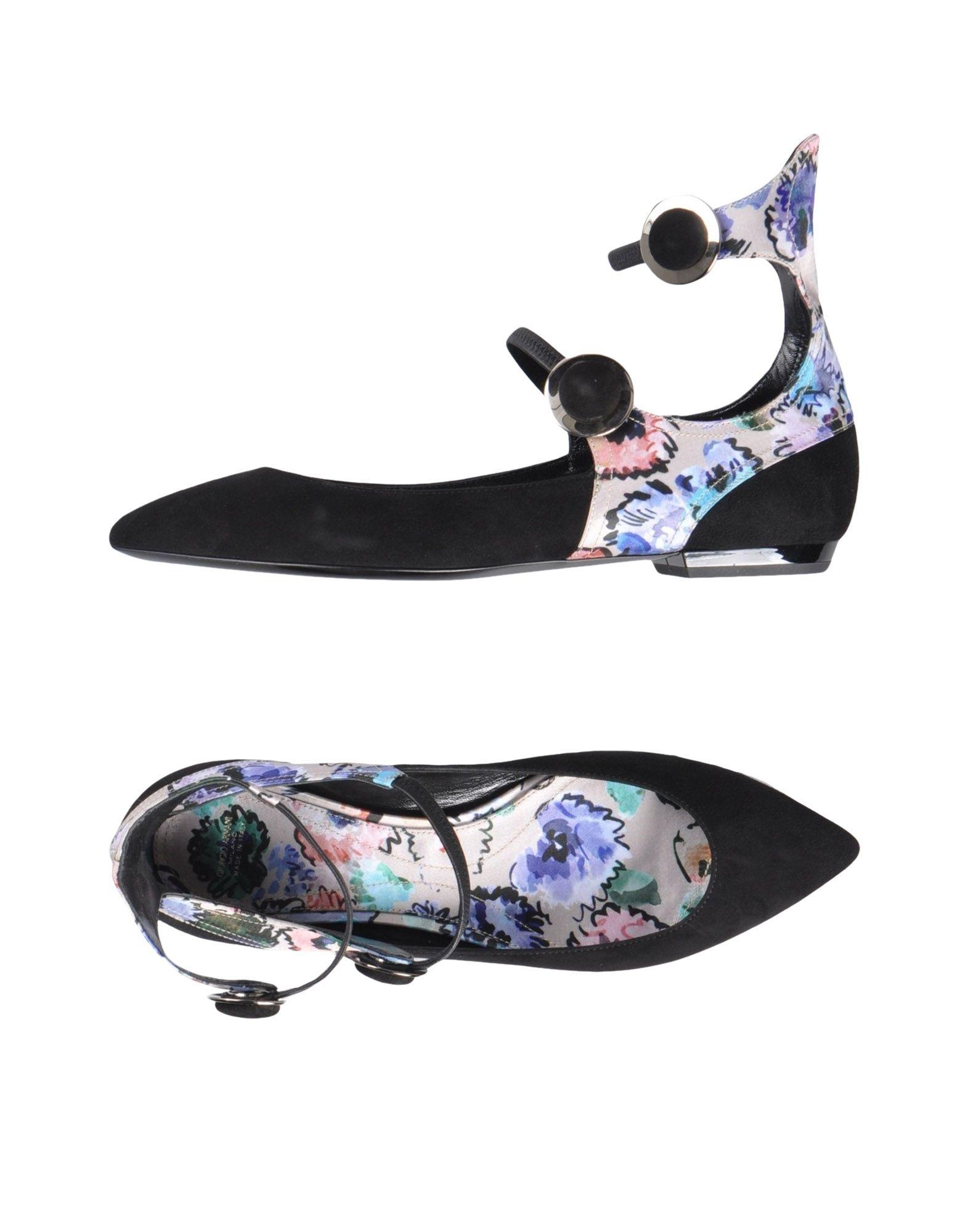 Rabatt Schuhe Ballerinas Giorgio Armani Ballerinas Schuhe Damen  11451219WD 8005c2