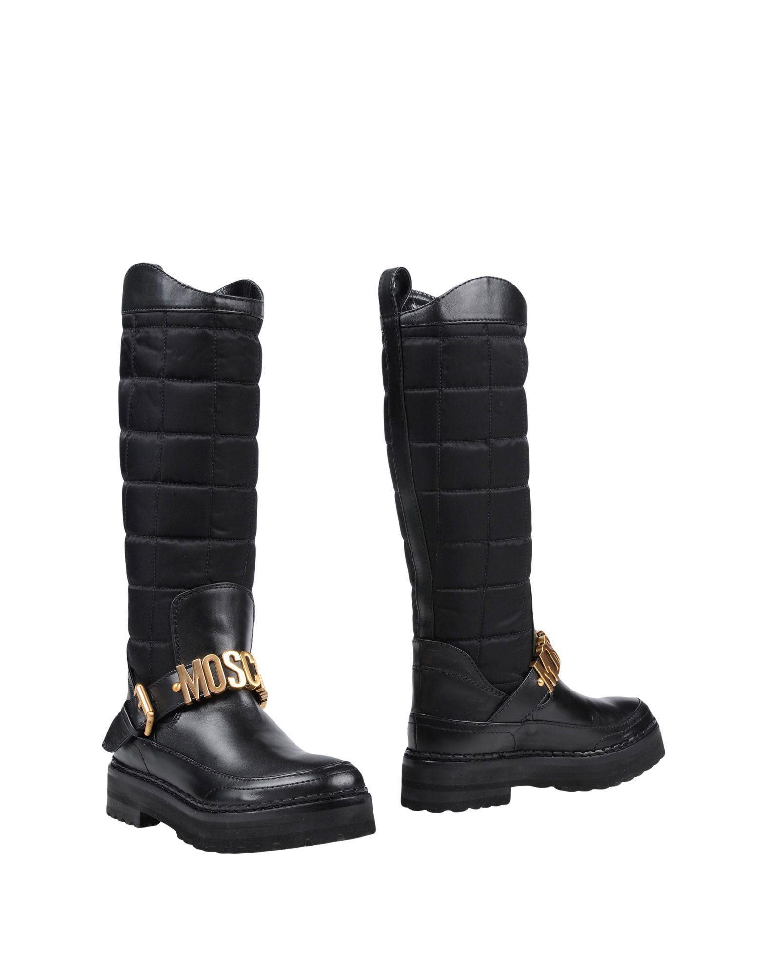 Moschino Stiefel aussehende Damen  11451235IUGünstige gut aussehende Stiefel Schuhe 451c51