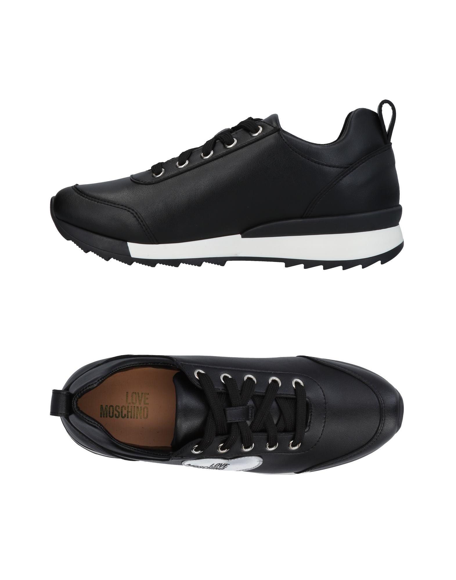 Cómodo y bien parecido Zapatillas Love Mujer Moschino Mujer Love - Zapatillas Love Moschino  Negro b98eba