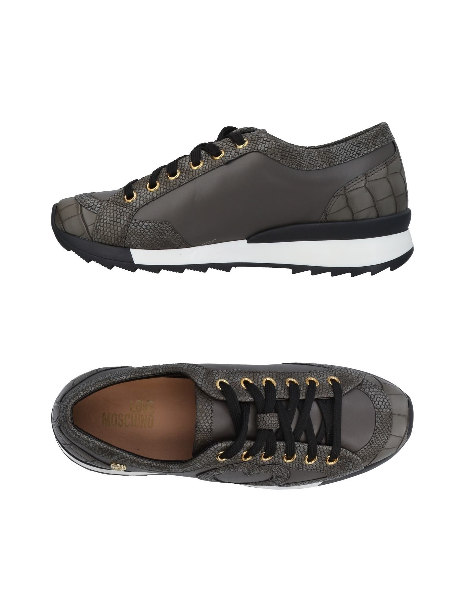 Stilvolle billige Schuhe Love Moschino Sneakers Damen  11451290FO