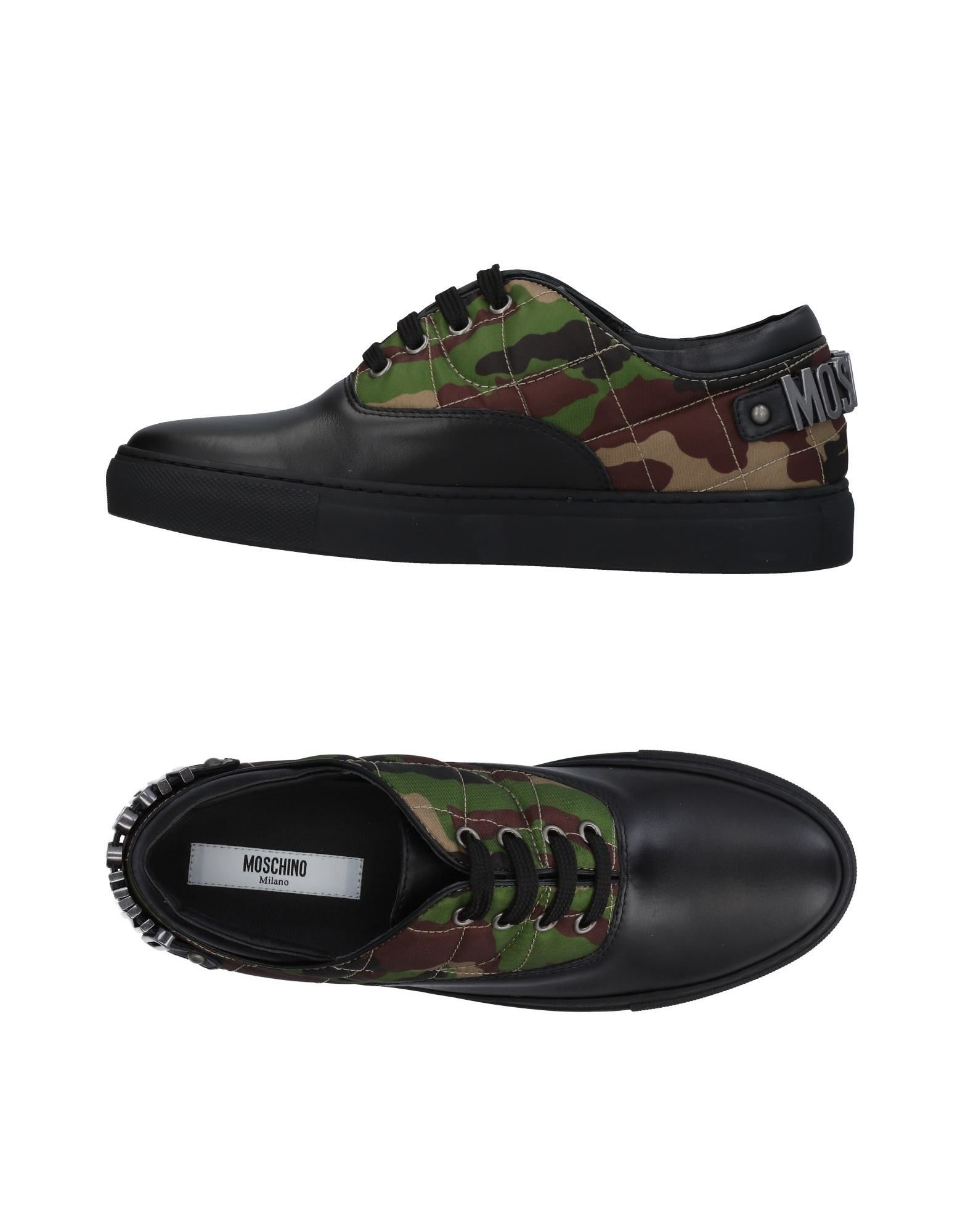 Rabatt Schuhe Moschino Sneakers Damen  11451320VI