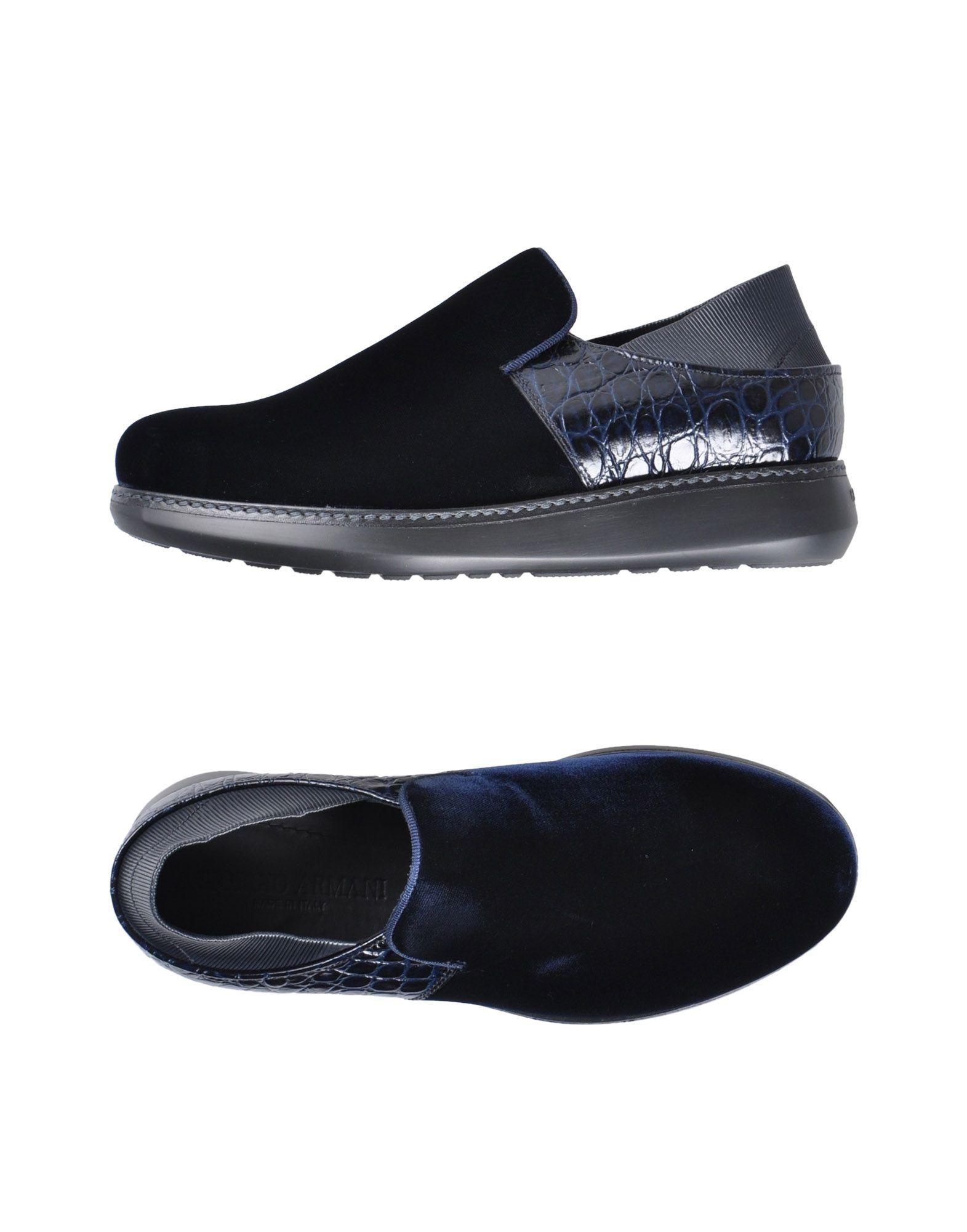 Sneakers Giorgio Armani Homme - Sneakers Giorgio Armani  Bleu foncé Confortable et belle