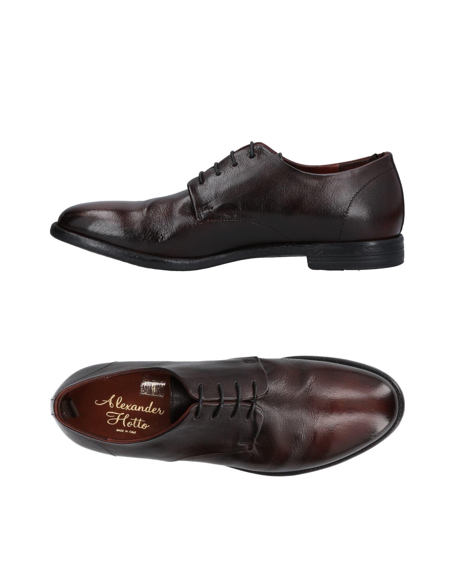 Rabatt echte Schuhe Alexander Hotto Schnürschuhe Herren  11451668EG