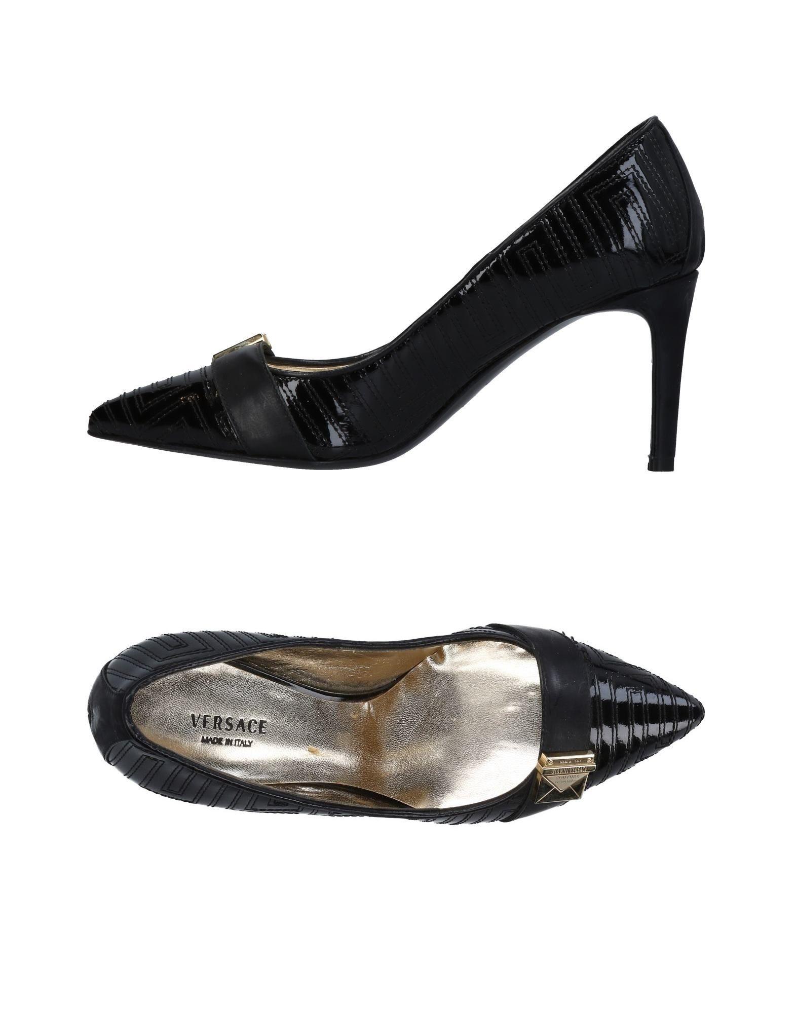 Versace gut Pumps Damen  11451873JWGünstige gut Versace aussehende Schuhe df9ea1
