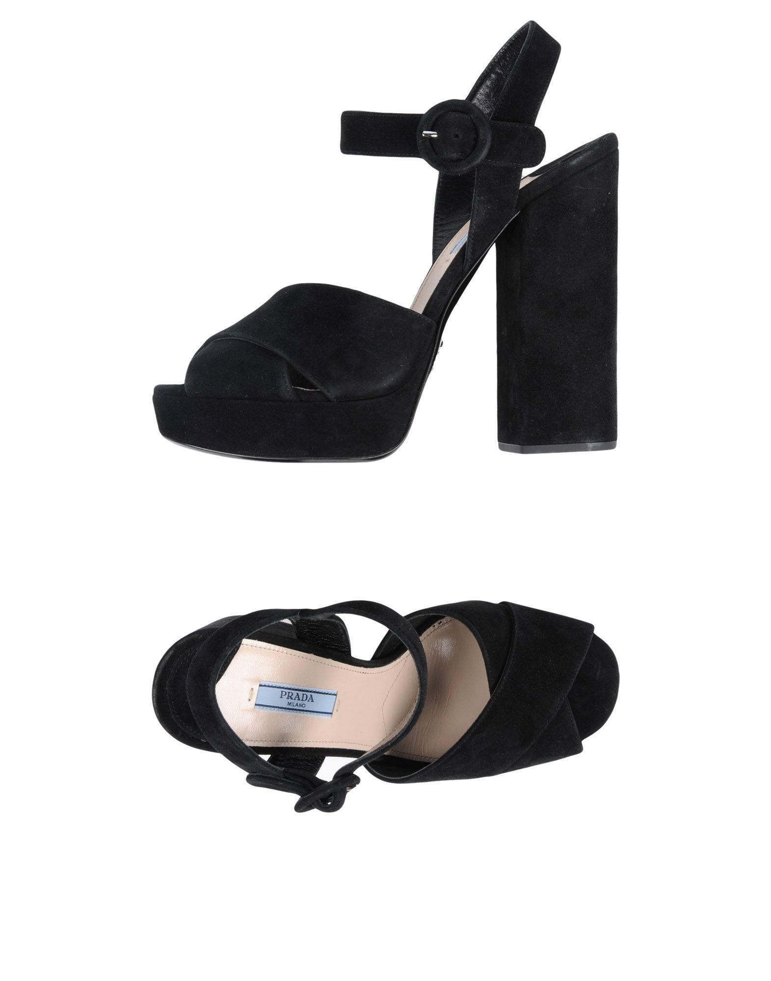 Prada Sandalen Damen  11451898ILGünstige gut aussehende Schuhe