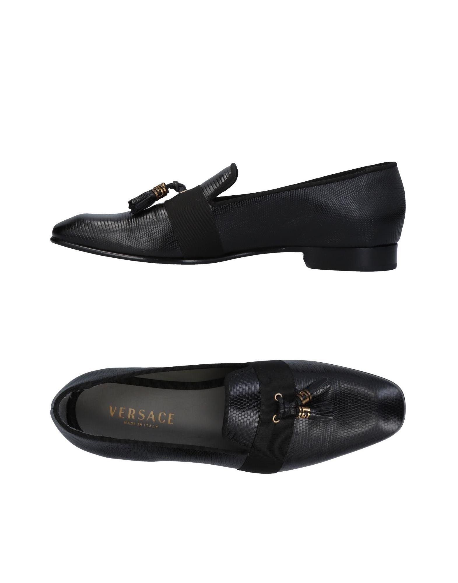 Günstige und modische Schuhe Versace Mokassins Herren  11451909RH