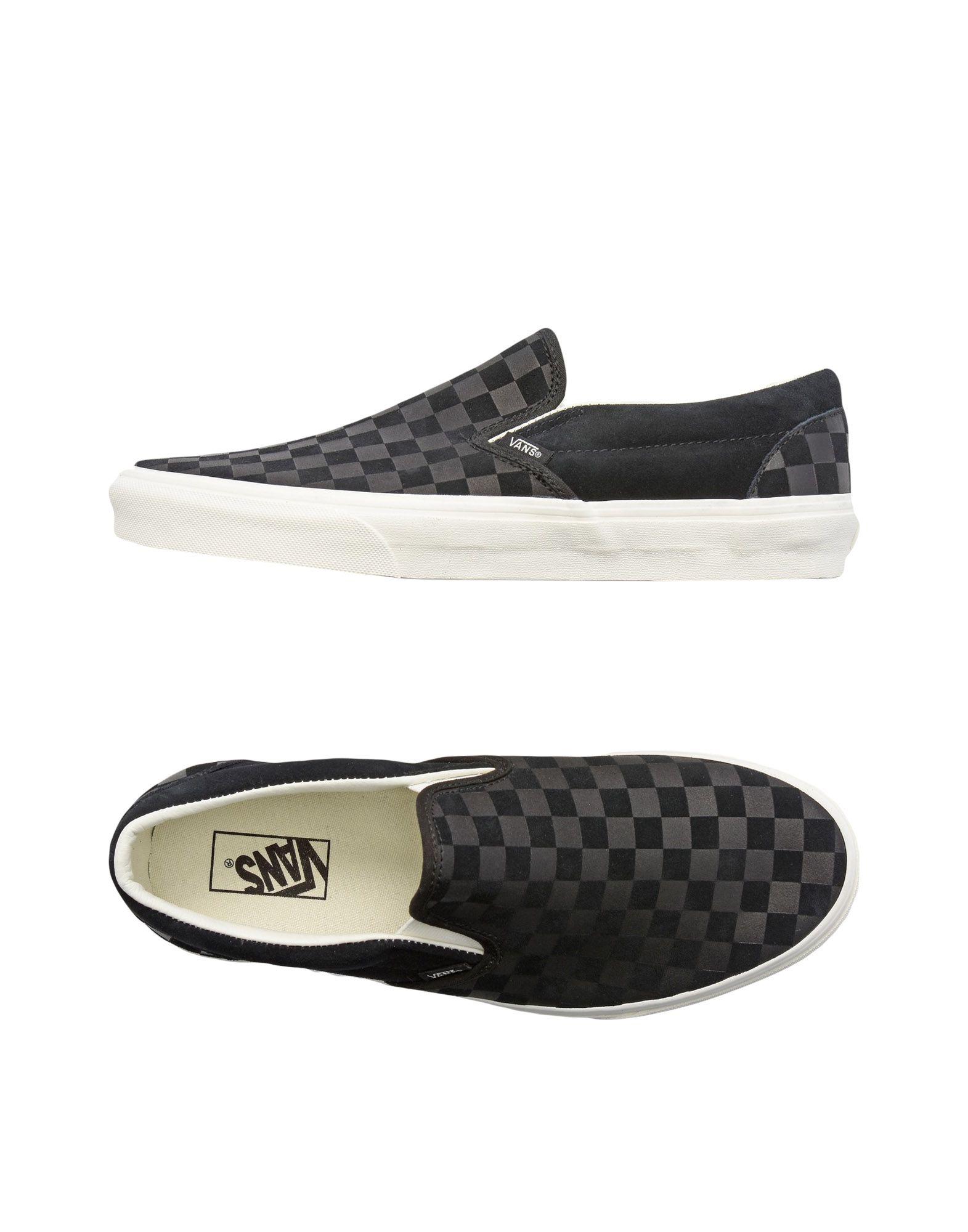 Zapatillas Vans Ua Classic Slip-On - Hombre - Zapatillas Vans   Vans Negro ac7553
