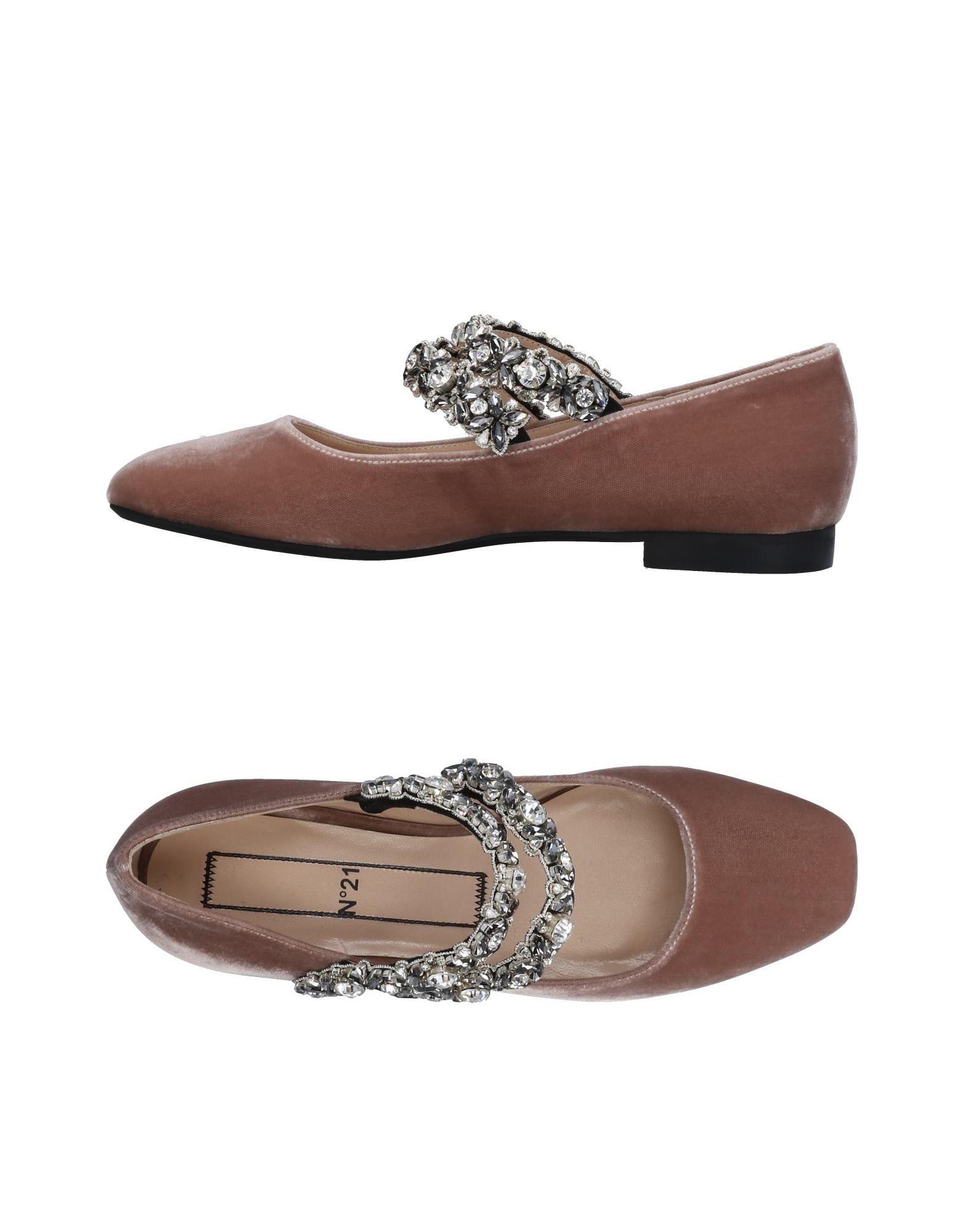 N° 21 Ballerinas Damen  11452326TGGünstige gut aussehende Schuhe