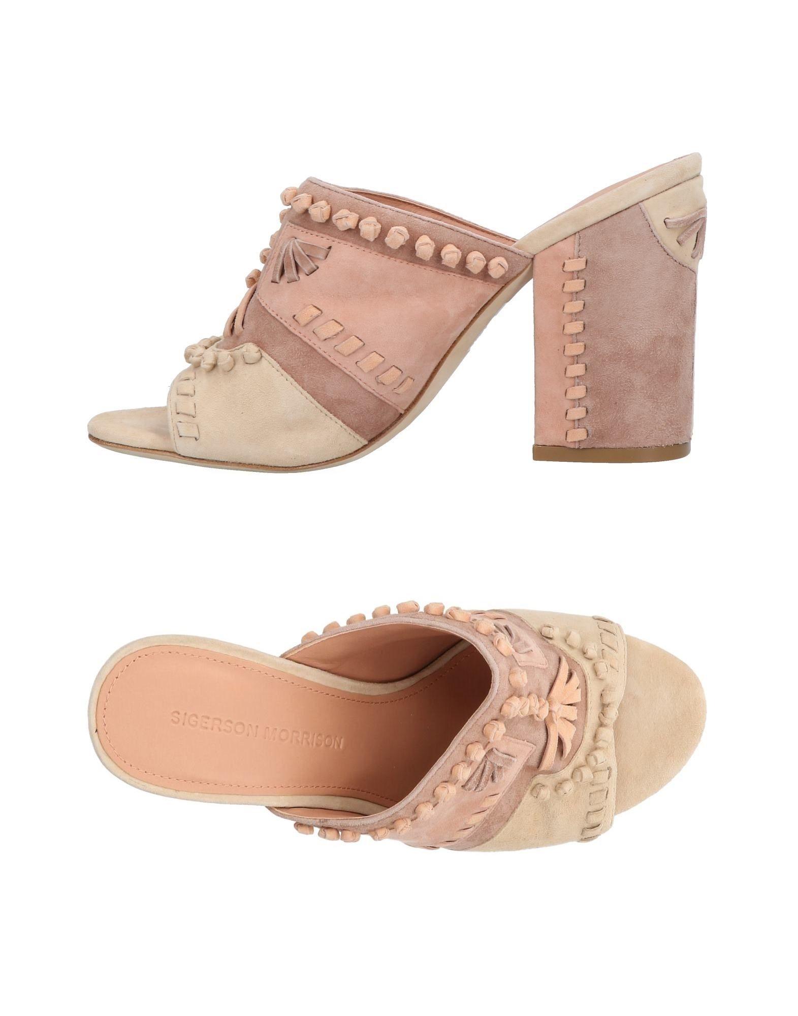 Sigerson Morrison Sandalen Damen  11452498VG Neue Schuhe