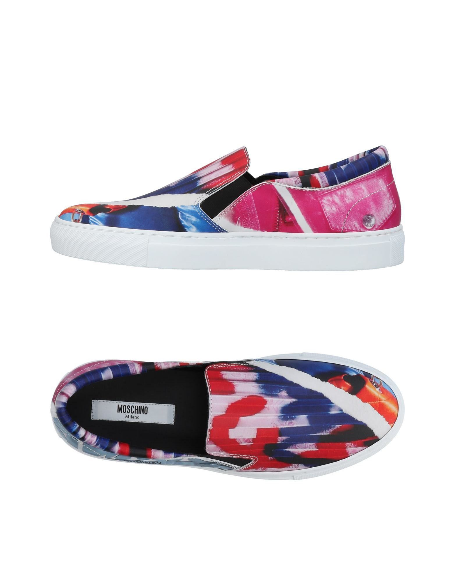 Stilvolle billige Schuhe Moschino Sneakers Damen  11452795SR