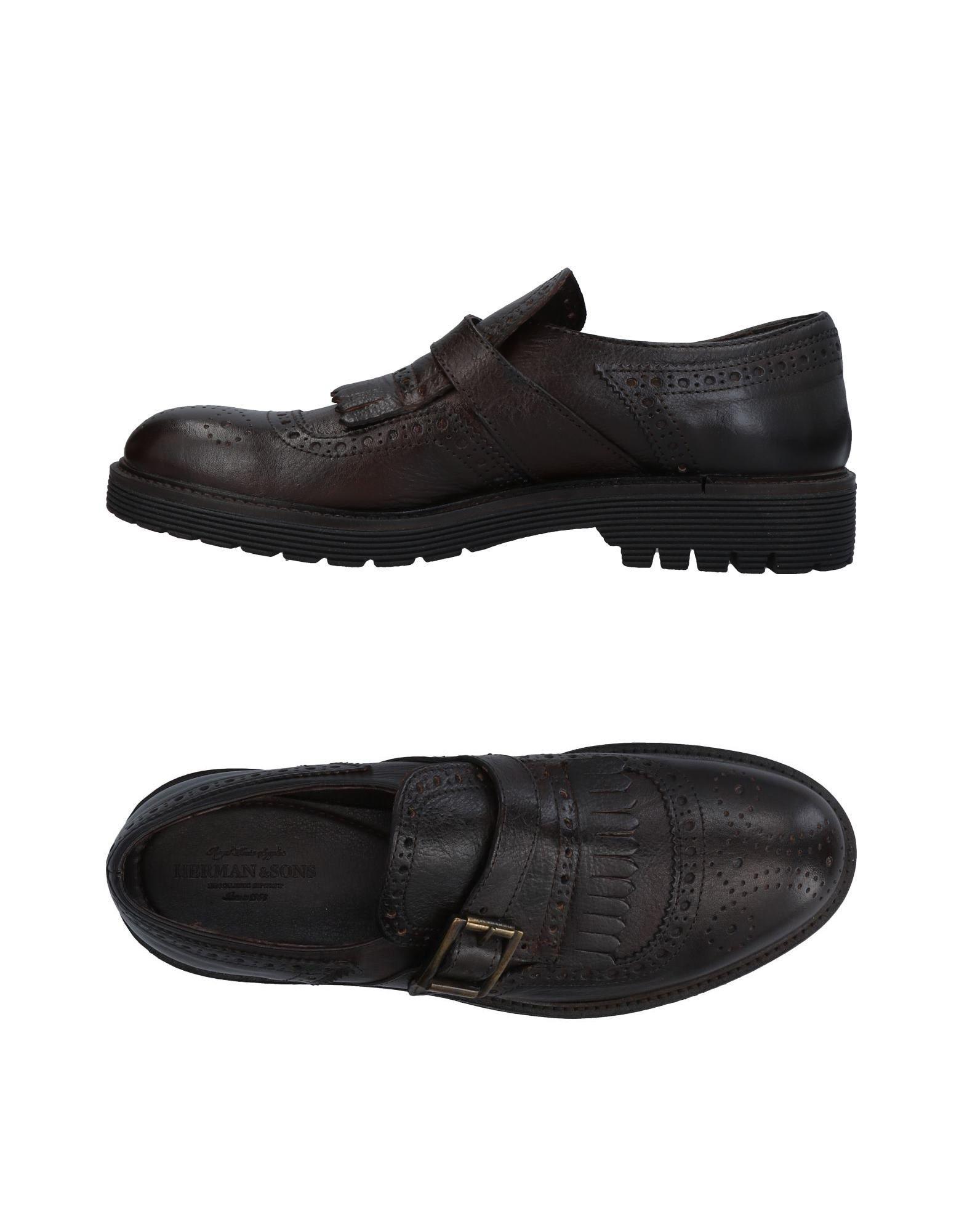 Rabatt echte Schuhe Herman & Sons Mokassins Herren  11452822IX