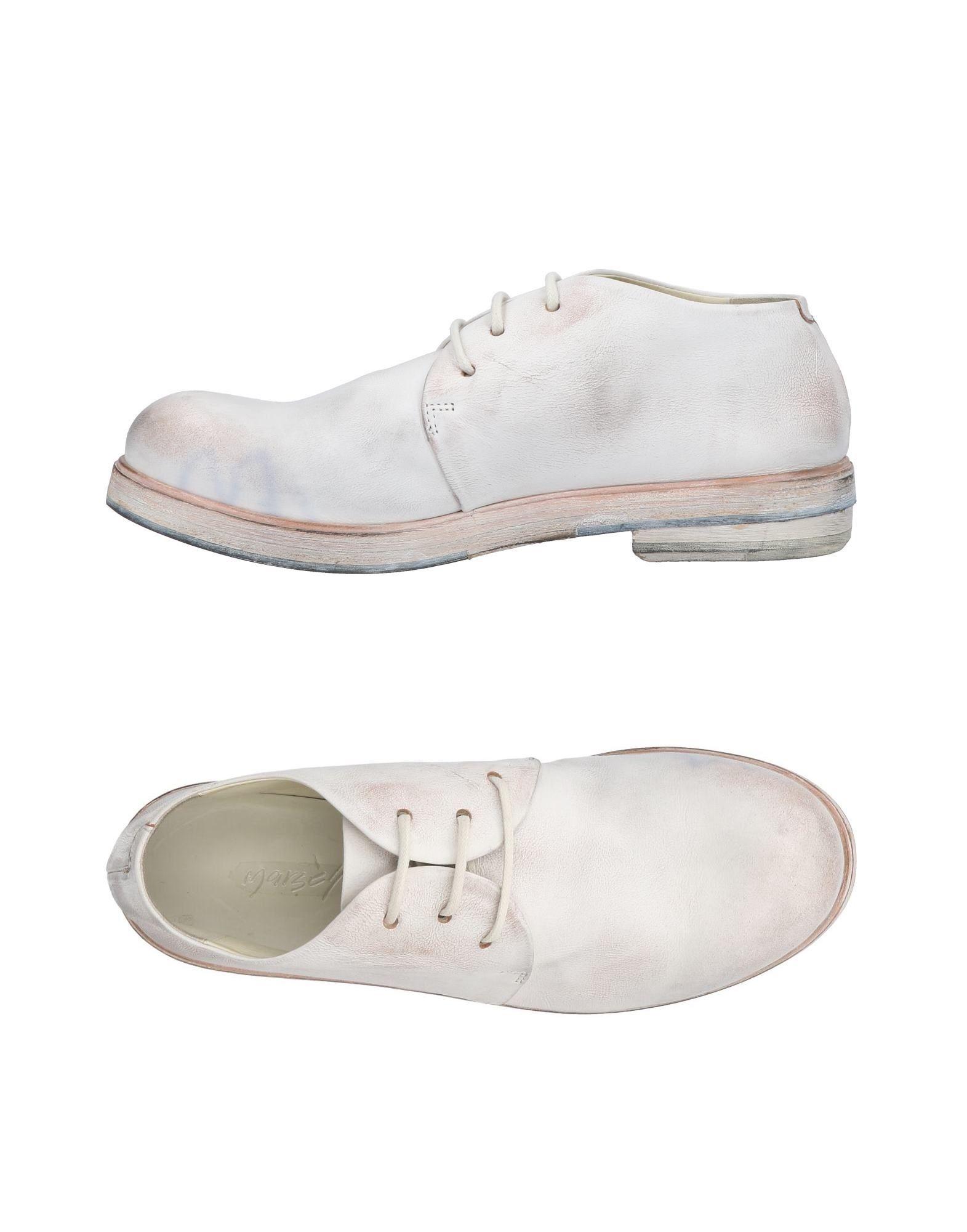 Cómodo y bien parecido Zapato De Cordones - Marsèll Mujer - Cordones Zapatos De Cordones Marsèll  Marfil 7e2825