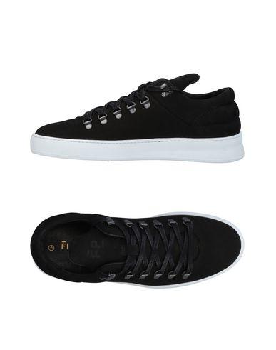 Zapatos con Hombre descuento Zapatillas Filling Pieces Hombre con - Zapatillas Filling Pieces - 11452931VG Negro cdae58