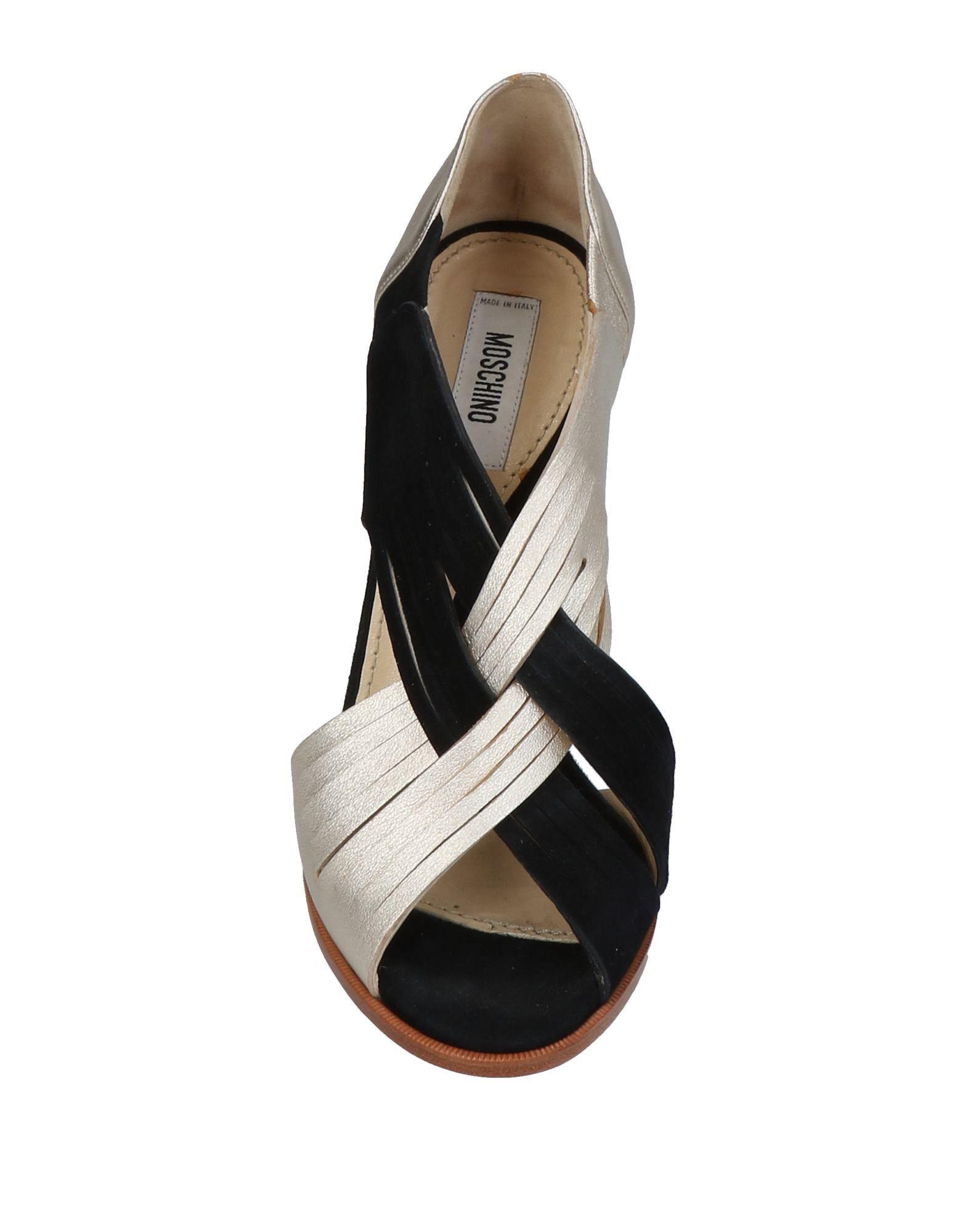 Stilvolle billige Schuhe Moschino Sandalen Damen  11453191AX