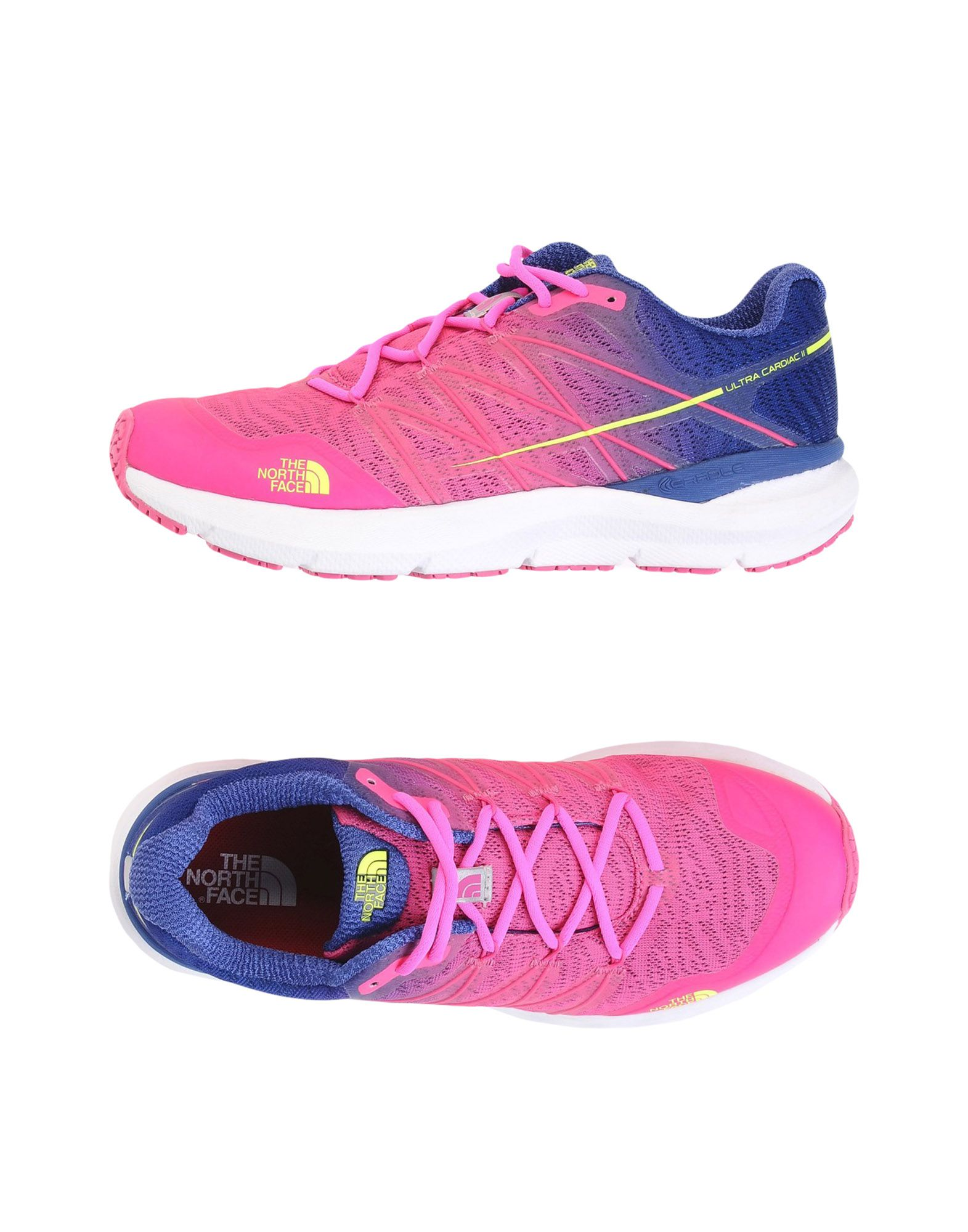 Sneakers The North Face W Ultra Cardiac Ii  Sdlt Bl/Glo Pnk - Donna - 11453457WX