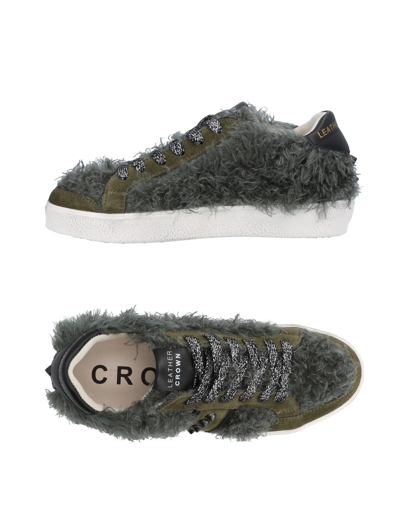 Sneakers Leather Crown Donna - 11453483RG