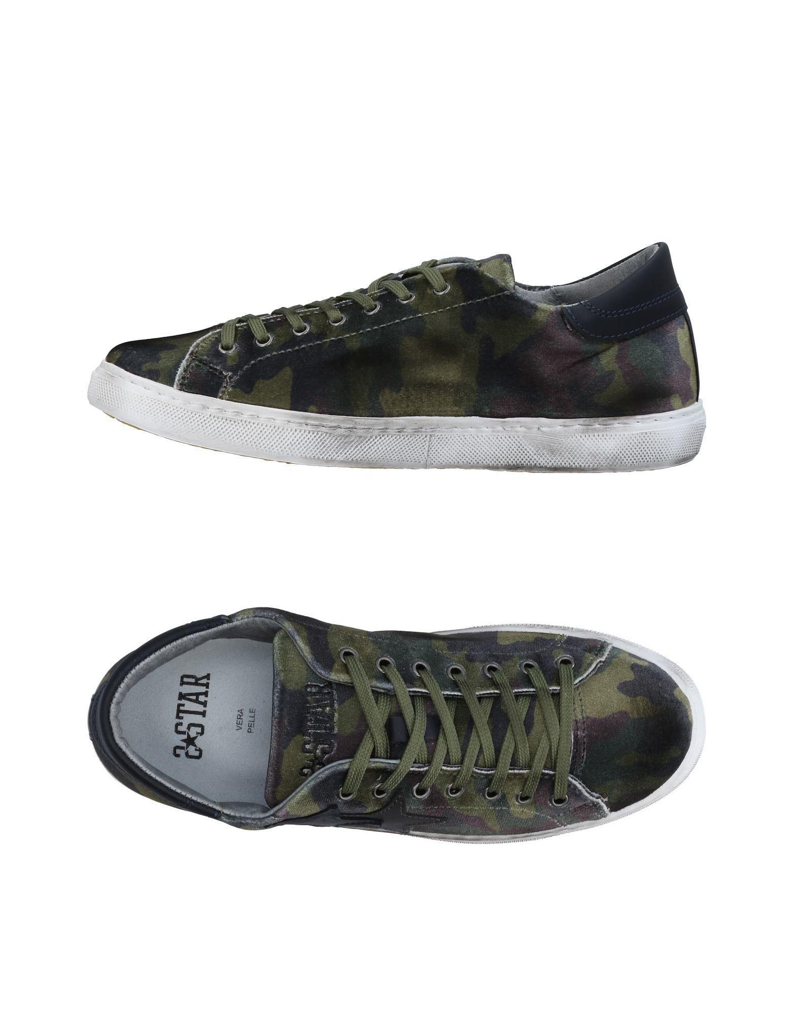 Rabatt echte Schuhe 2Star Sneakers Herren  11453484CR