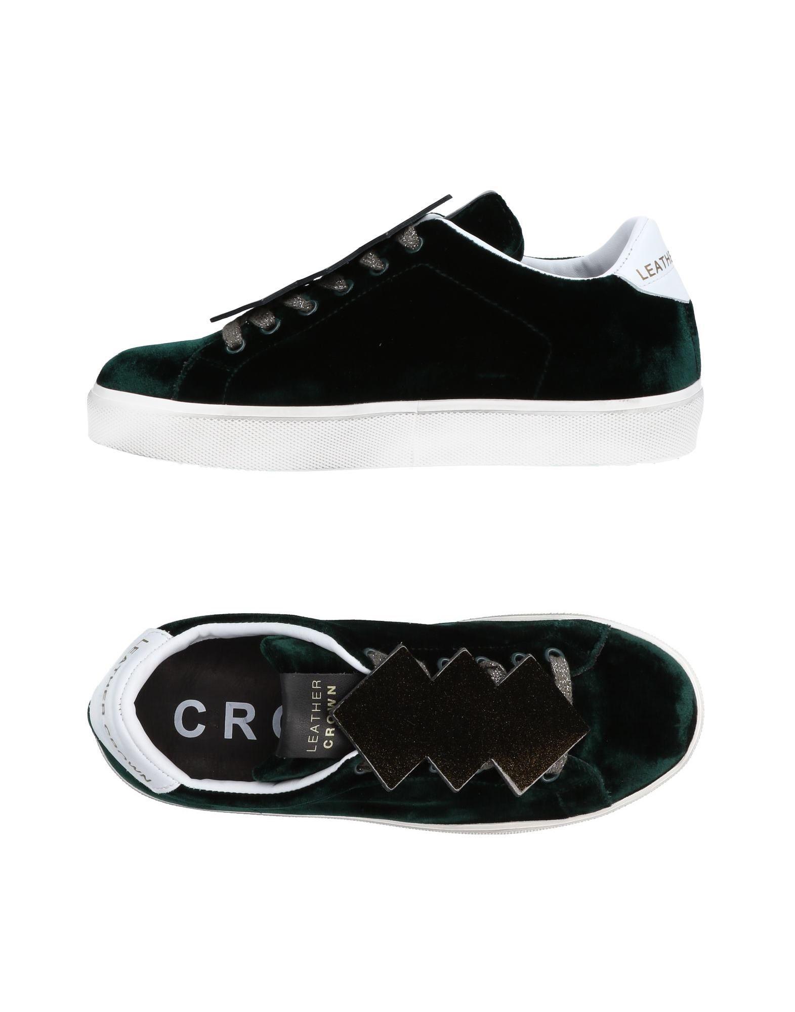 Leather Crown Sneakers Damen  11453492MV Neue Schuhe
