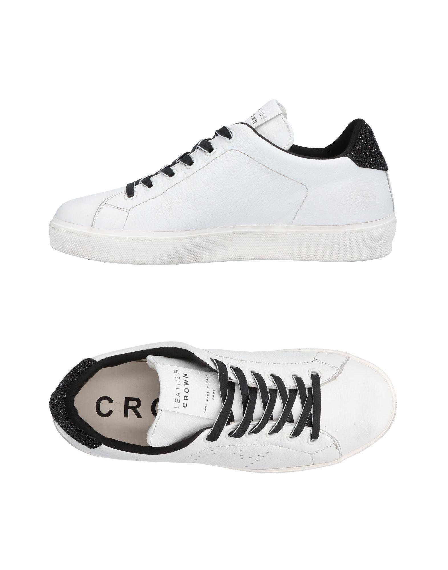 Leather Crown Sneakers Damen  11453498UJGut aussehende strapazierfähige Schuhe