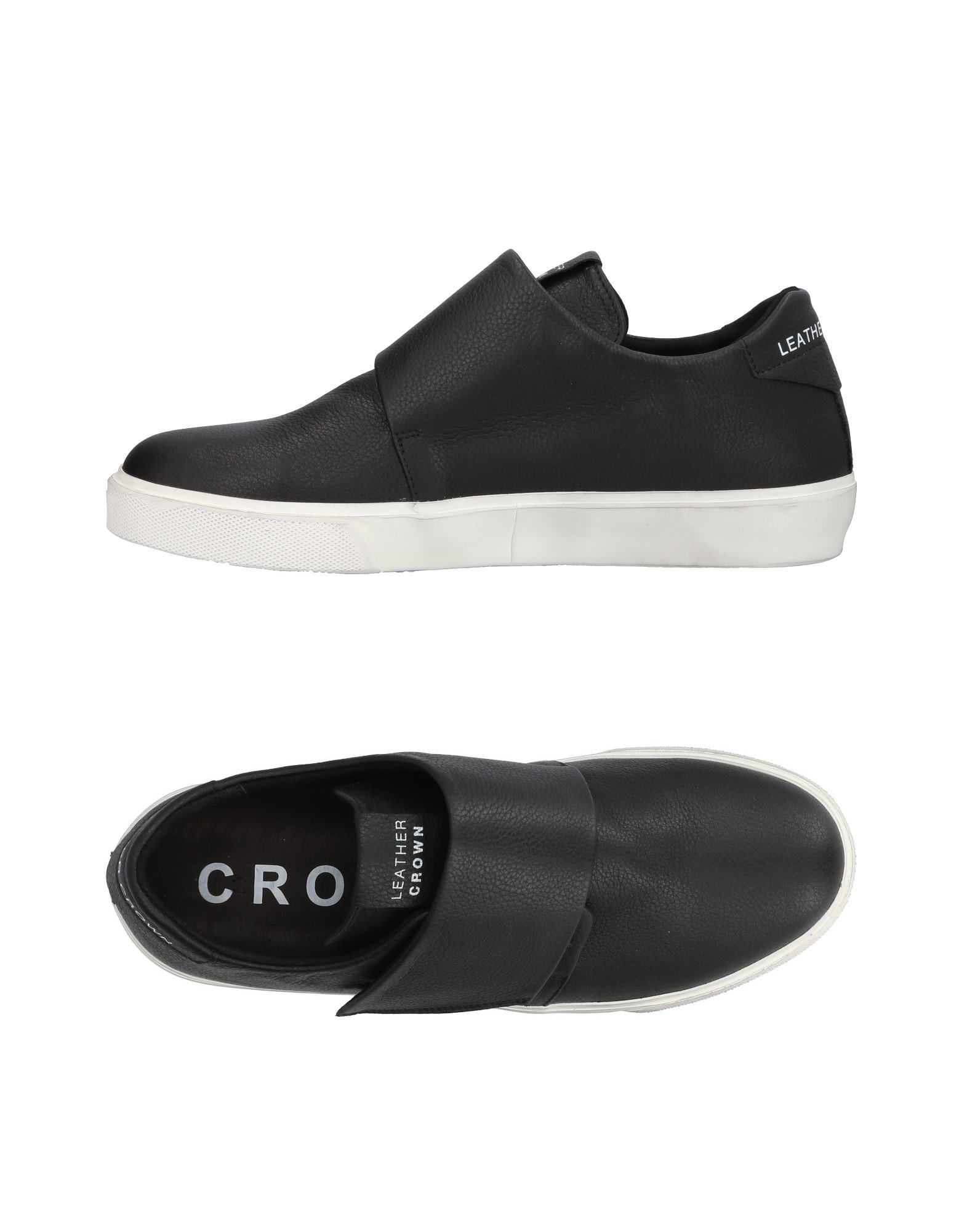 Leather on Crown Sneakers - Men Leather Crown Sneakers online on Leather  Australia - 11453571LT 3f8b85
