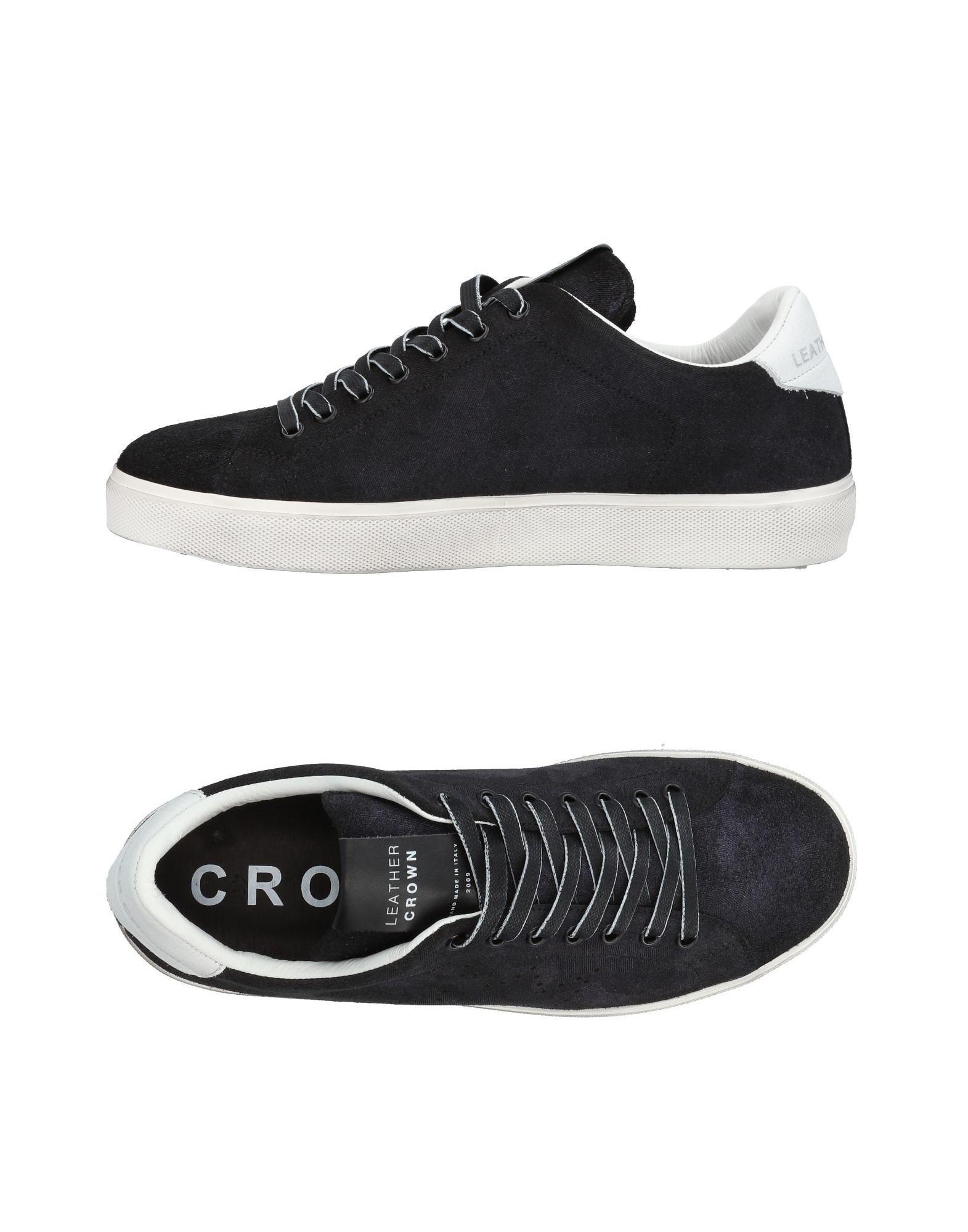 Leather Crown Sneakers Herren  11453578PH Gute Qualität beliebte Schuhe
