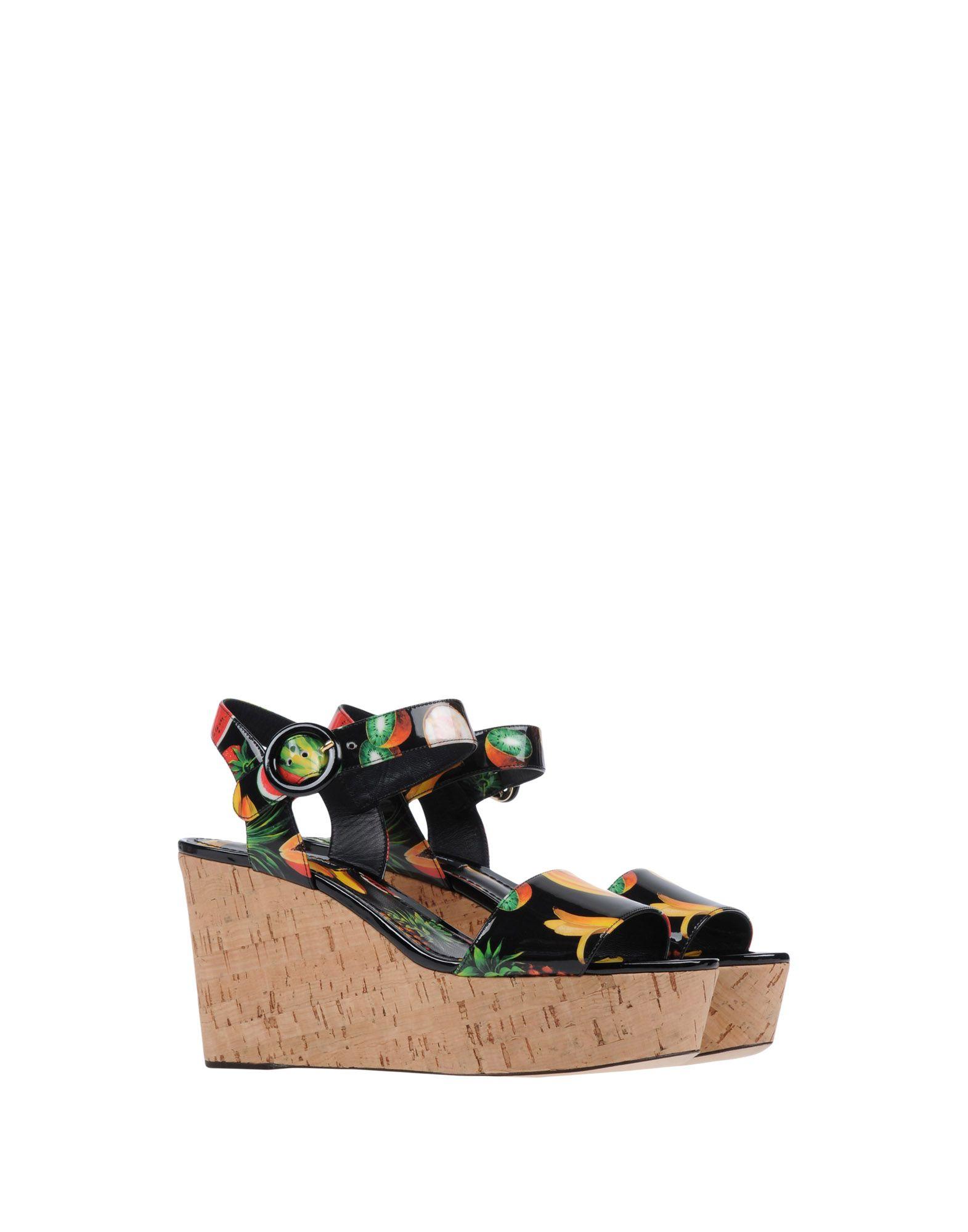 Dolce & Gabbana gut Sandalen Damen  11453652WHGünstige gut Gabbana aussehende Schuhe 102208